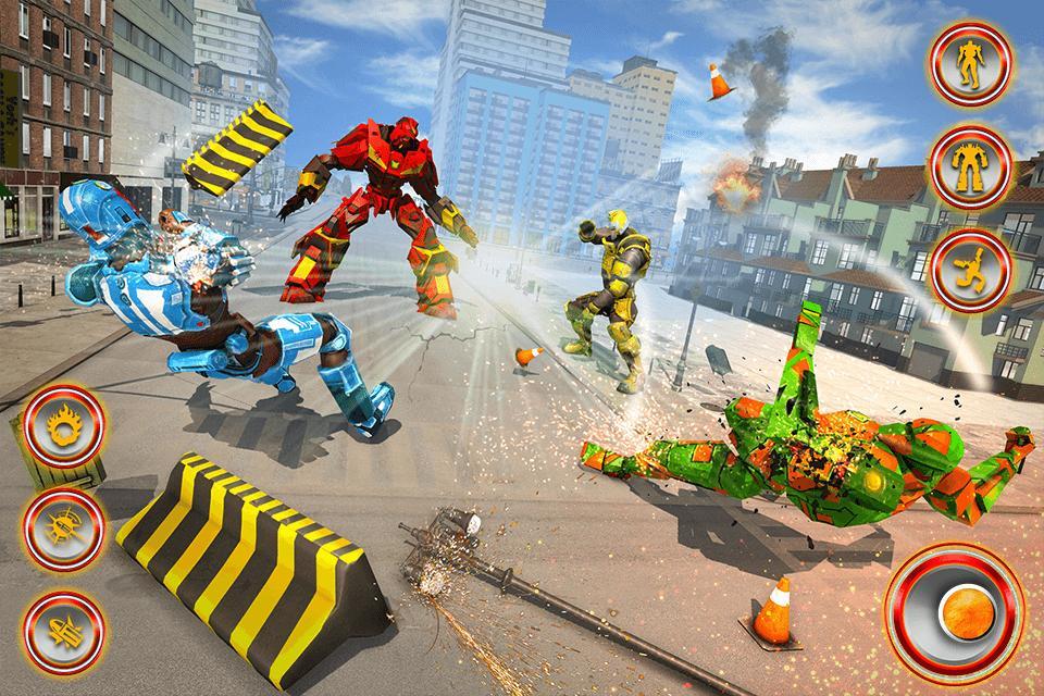 Flying Dragon Robot Car - Robot Transforming Games 2.2 Screenshot 5