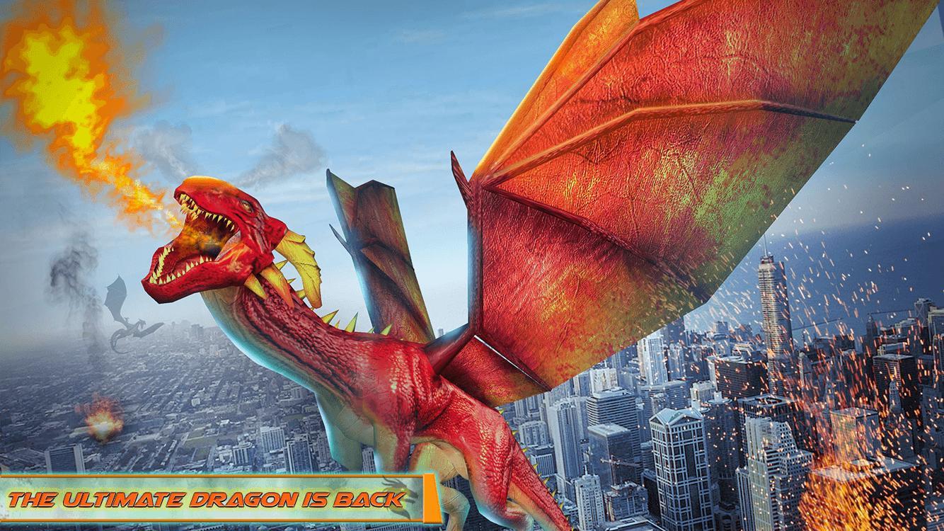 Flying Dragon Robot Car - Robot Transforming Games 2.2 Screenshot 7