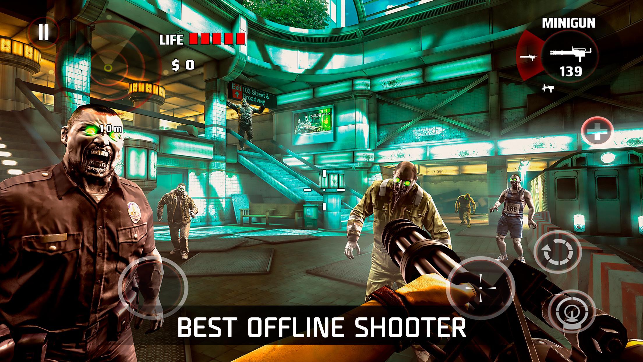 DEAD TRIGGER - Offline Zombie Shooter 2.0.1 Screenshot 1