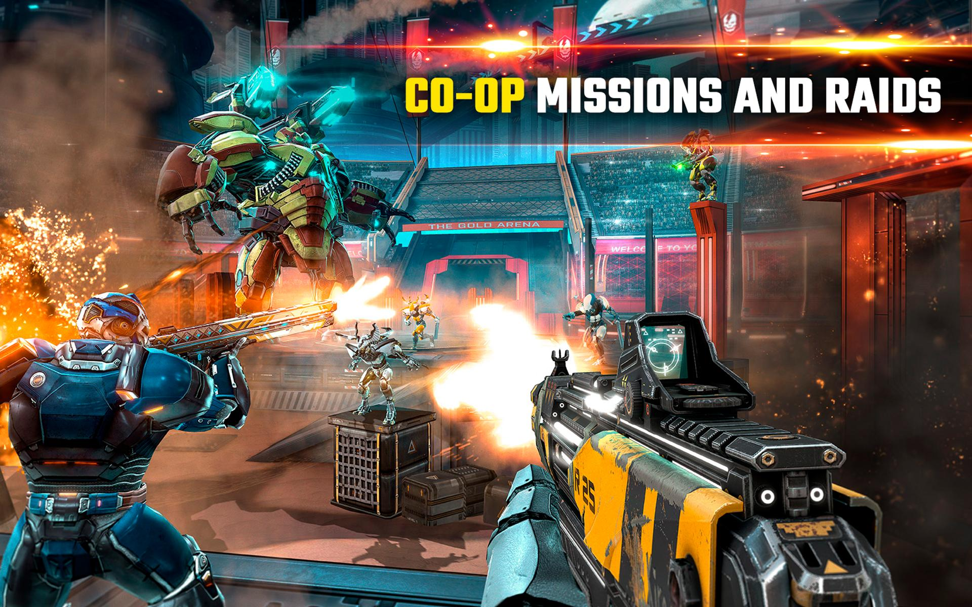 SHADOWGUN LEGENDS - FPS and PvP Multiplayer games 1.0.5 Screenshot 14