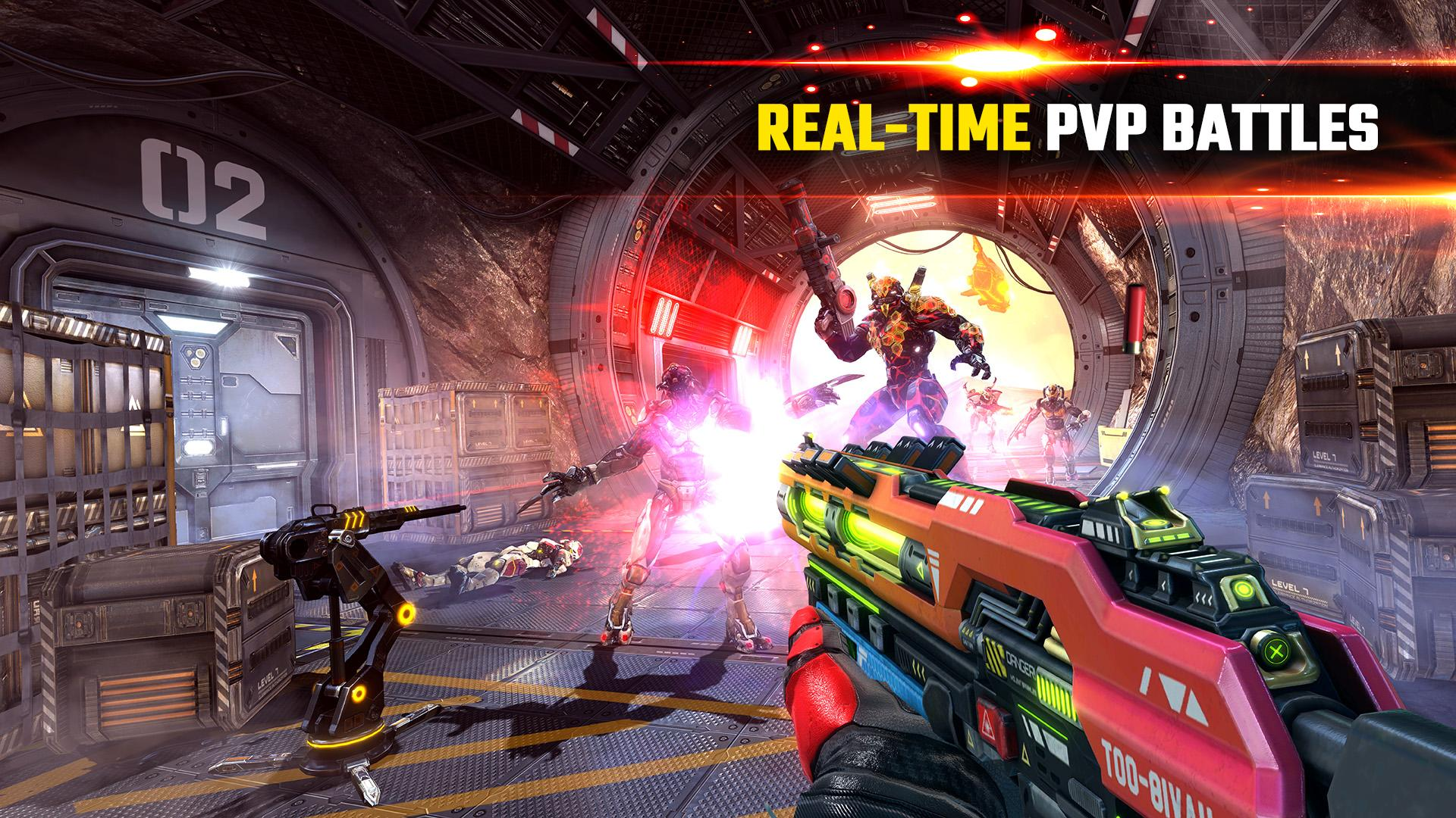 SHADOWGUN LEGENDS - FPS and PvP Multiplayer games 1.0.5 Screenshot 2