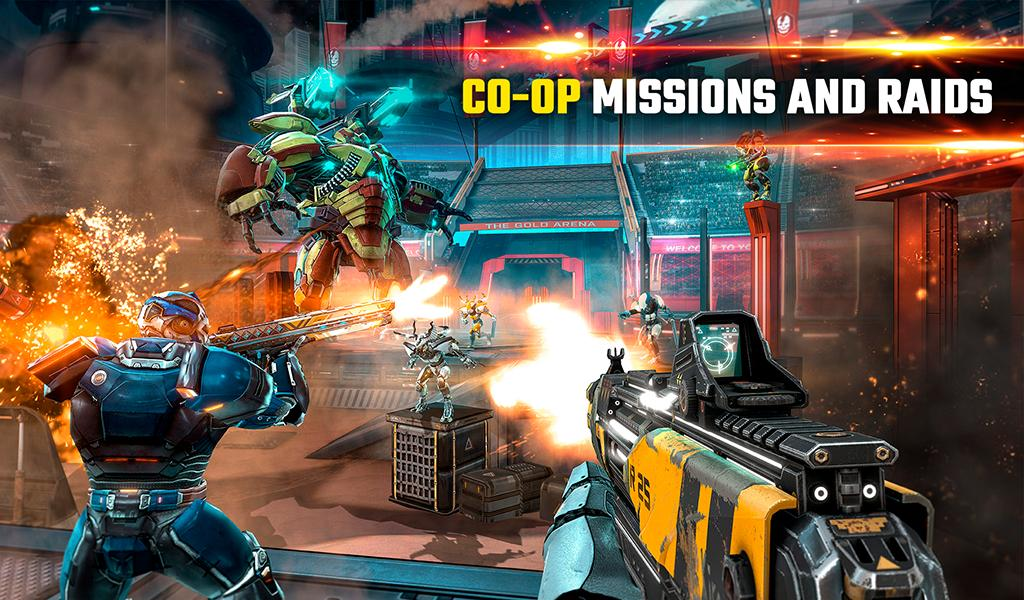 SHADOWGUN LEGENDS - FPS and PvP Multiplayer games 1.0.5 Screenshot 22