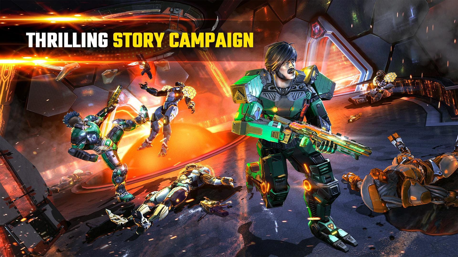SHADOWGUN LEGENDS - FPS and PvP Multiplayer games 1.0.5 Screenshot 3