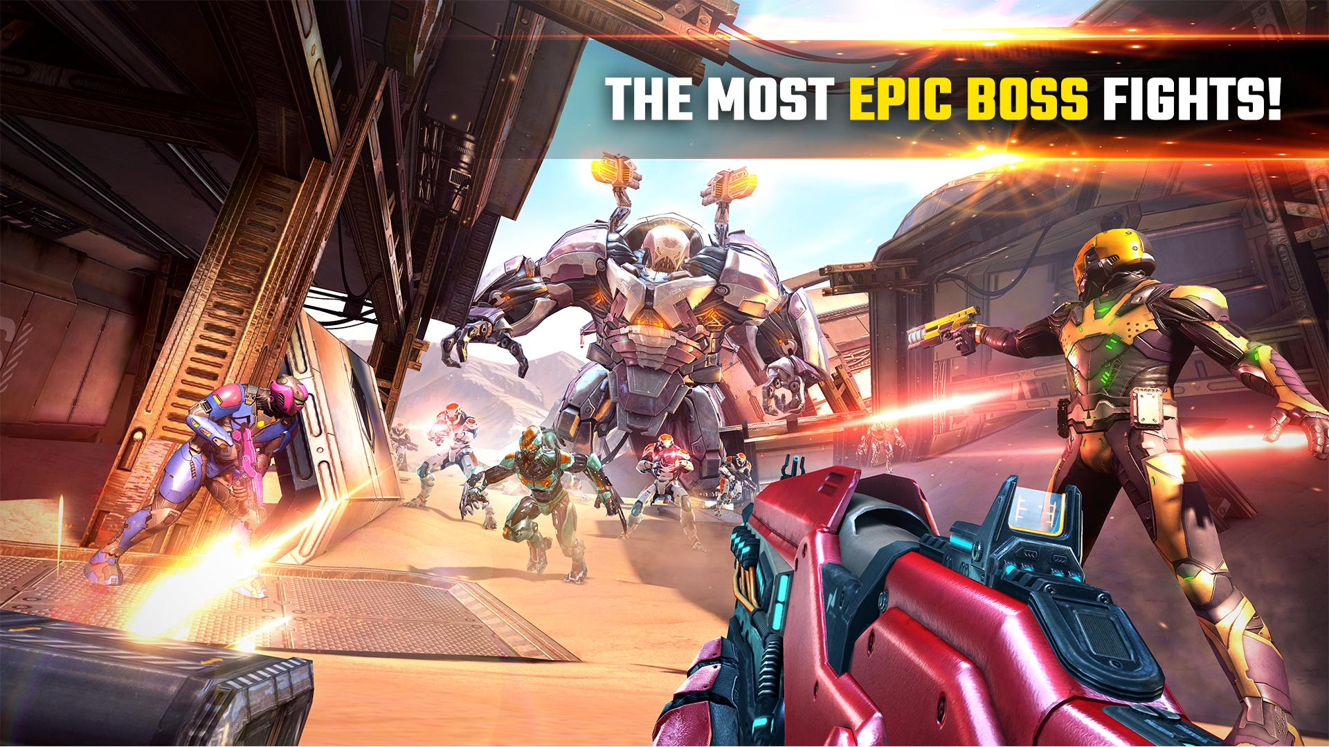 SHADOWGUN LEGENDS - FPS and PvP Multiplayer games 1.0.5 Screenshot 5