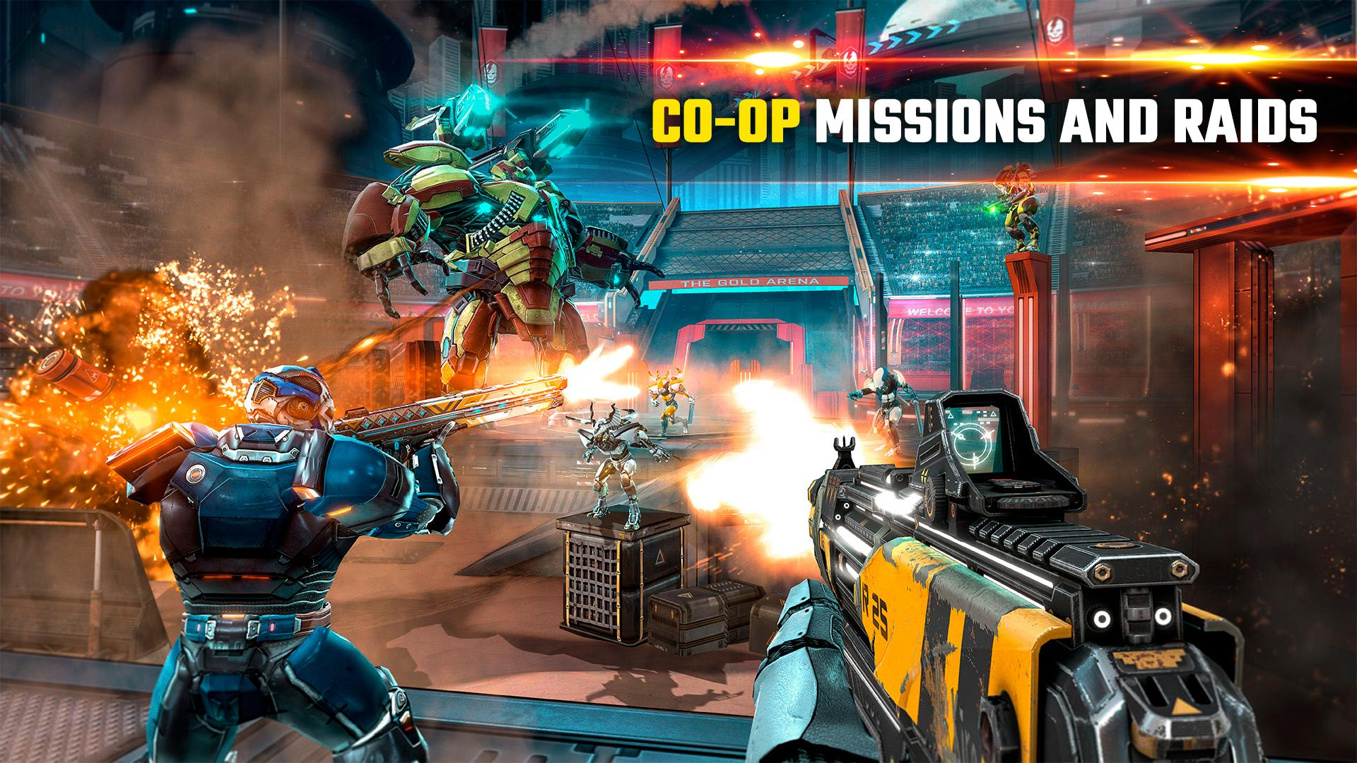 SHADOWGUN LEGENDS - FPS and PvP Multiplayer games 1.0.5 Screenshot 6