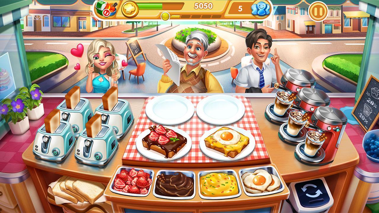 Cooking City crazy chef' s restaurant game 1.73.5017 Screenshot 1