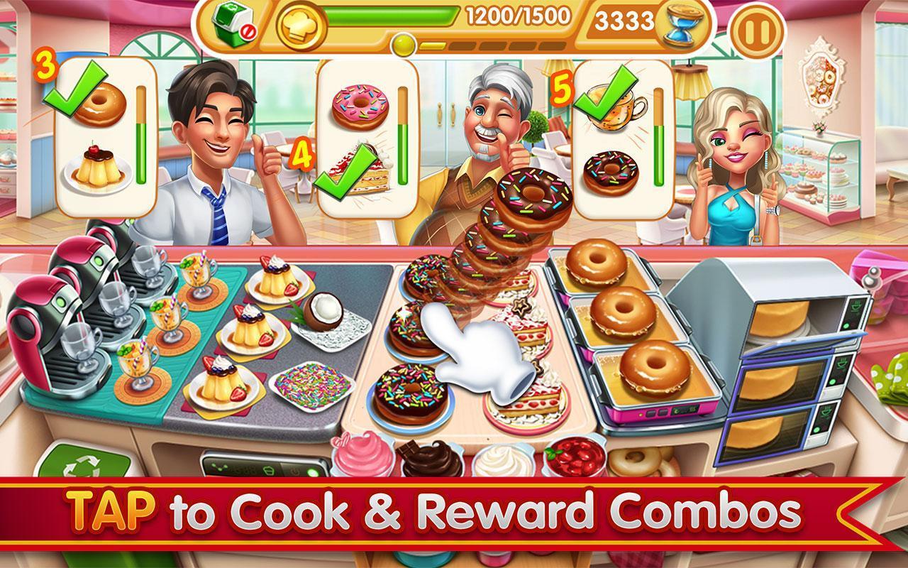 Cooking City crazy chef' s restaurant game 1.73.5017 Screenshot 11