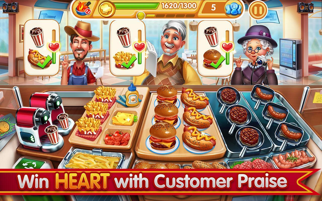 Cooking City crazy chef' s restaurant game 1.73.5017 Screenshot 18