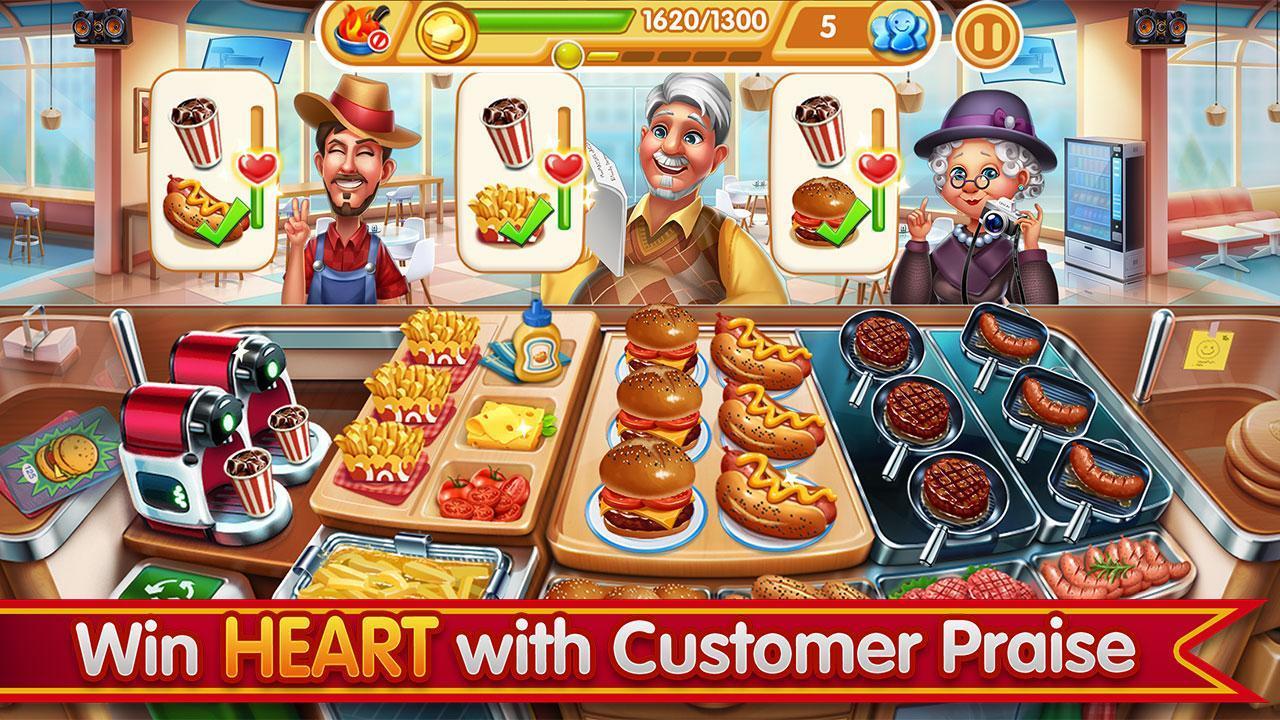 Cooking City crazy chef' s restaurant game 1.73.5017 Screenshot 2