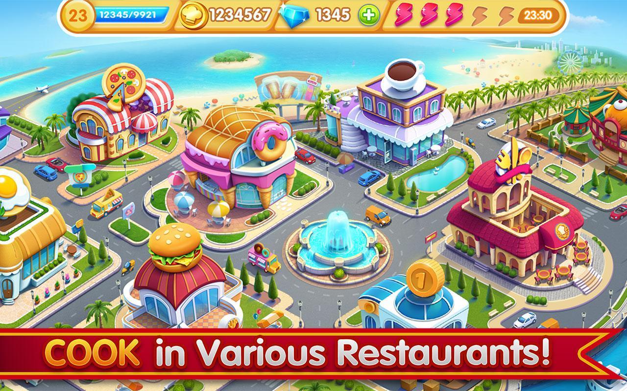 Cooking City crazy chef' s restaurant game 1.73.5017 Screenshot 20