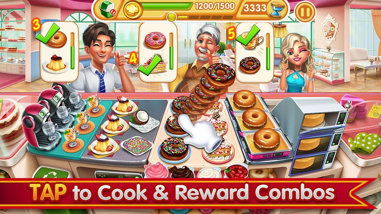 Cooking City crazy chef' s restaurant game 1.73.5017 Screenshot 3