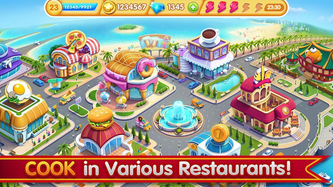 Cooking City crazy chef' s restaurant game 1.73.5017 Screenshot 4