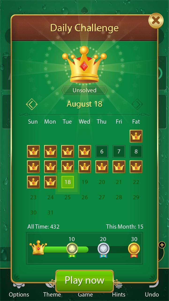 Solitaire Card Games Free 1.12.210 Screenshot 5