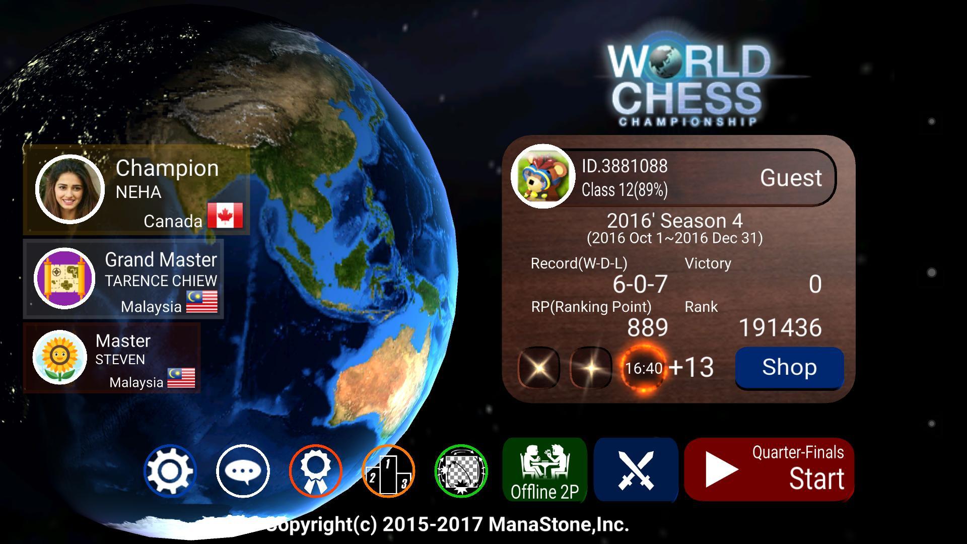 World Chess Championship 2.09.02 Screenshot 1