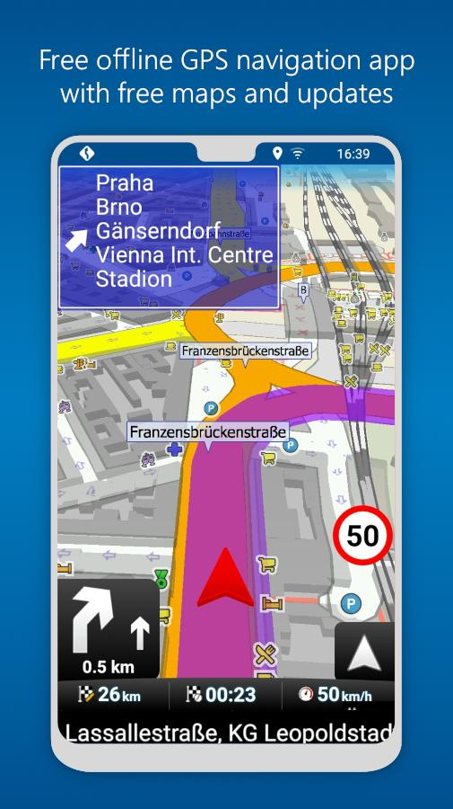 MapFactor GPS Navigation Maps 5.5.85 Screenshot 1