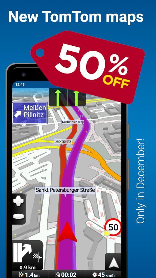 MapFactor GPS Navigation Maps 5.5.85 Screenshot 2