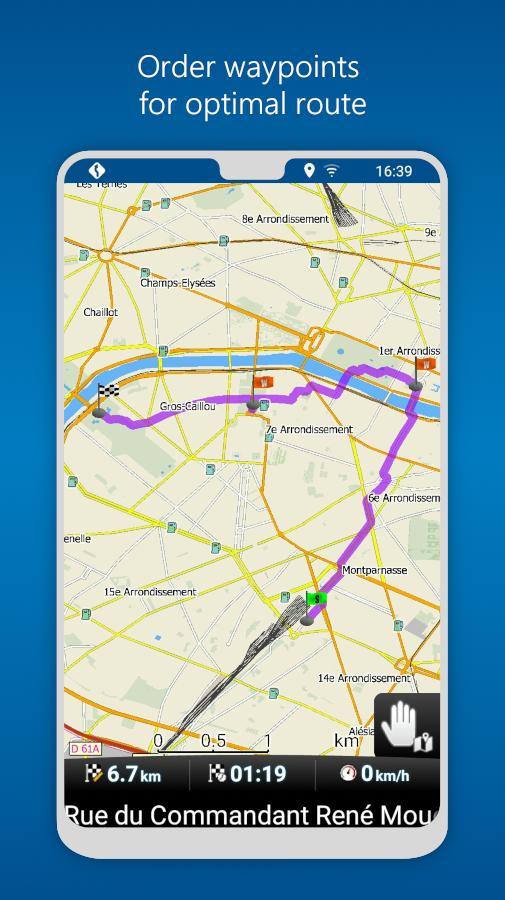 MapFactor GPS Navigation Maps 5.5.85 Screenshot 4