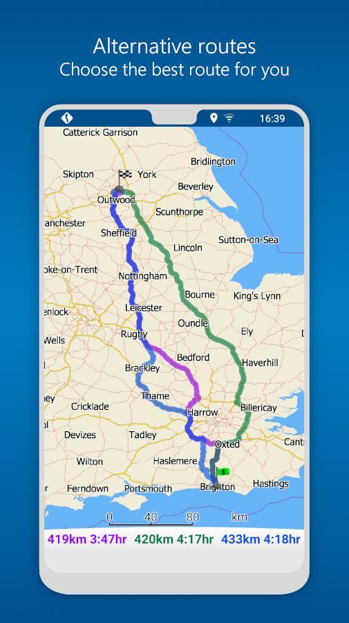 MapFactor GPS Navigation Maps 5.5.85 Screenshot 7