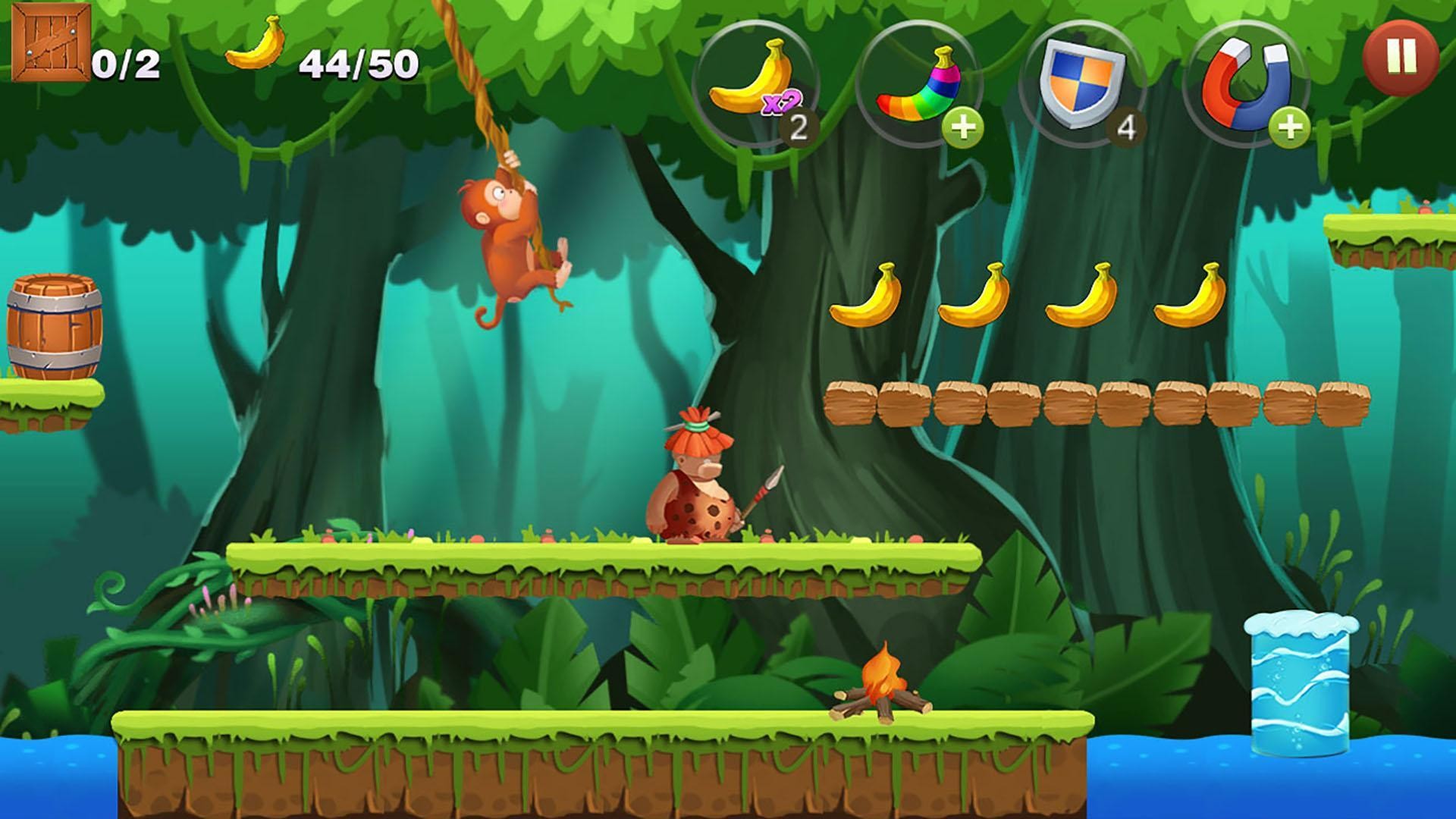 Jungle Monkey Run 1.7.7 Screenshot 10