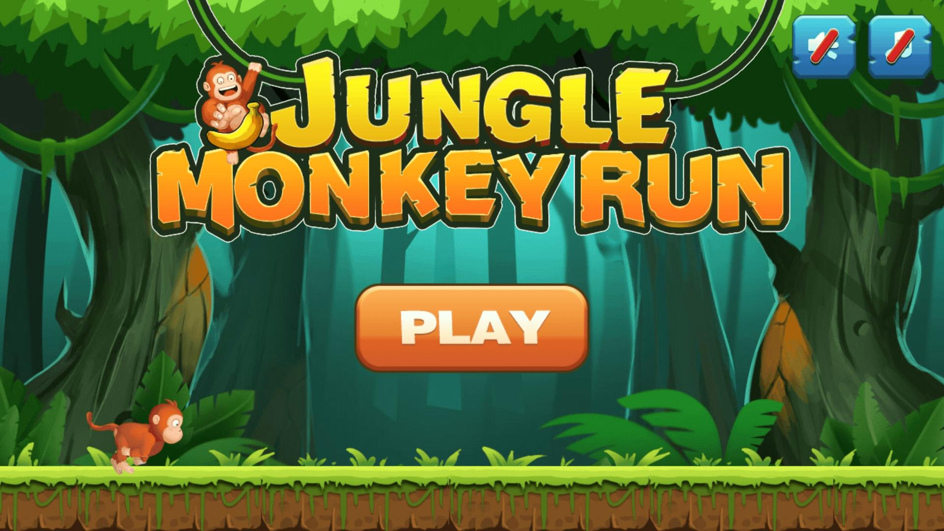 Jungle Monkey Run 1.7.7 Screenshot 11