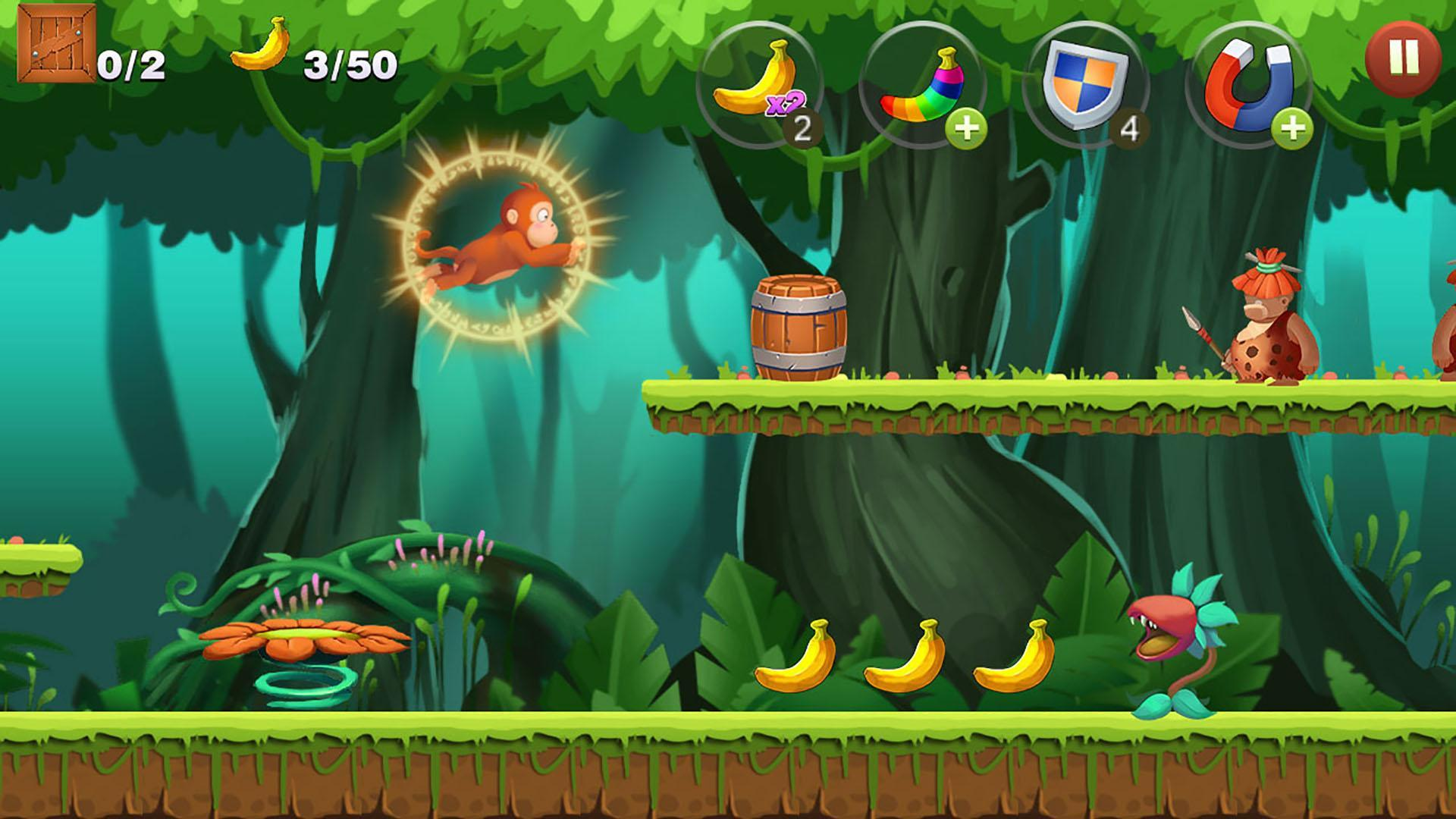 Jungle Monkey Run 1.7.7 Screenshot 13