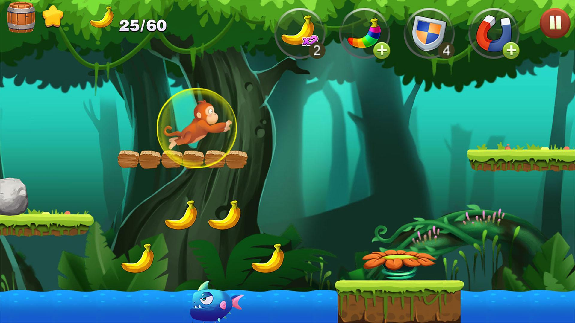 Jungle Monkey Run 1.7.7 Screenshot 2