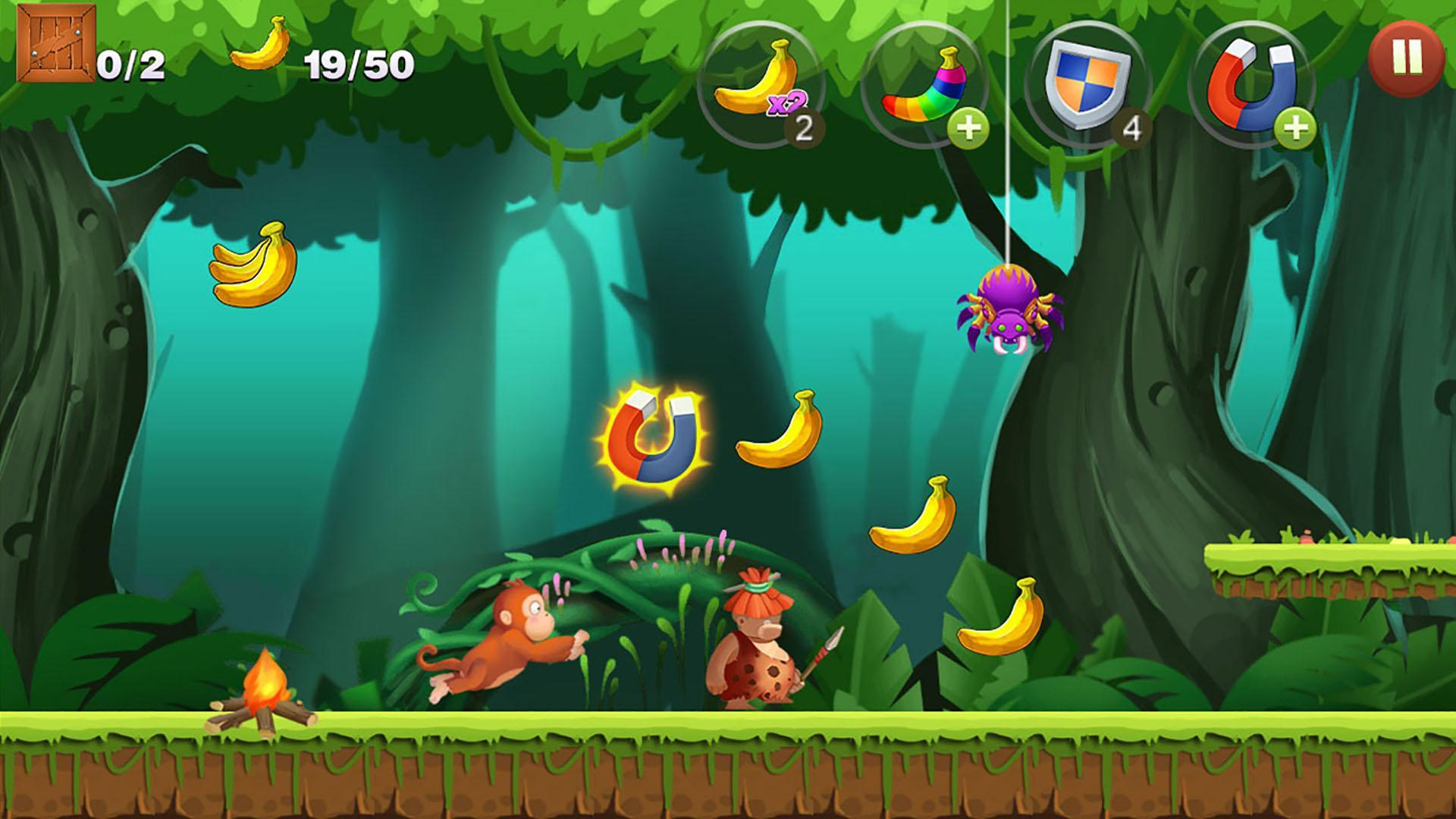 Jungle Monkey Run 1.7.7 Screenshot 4