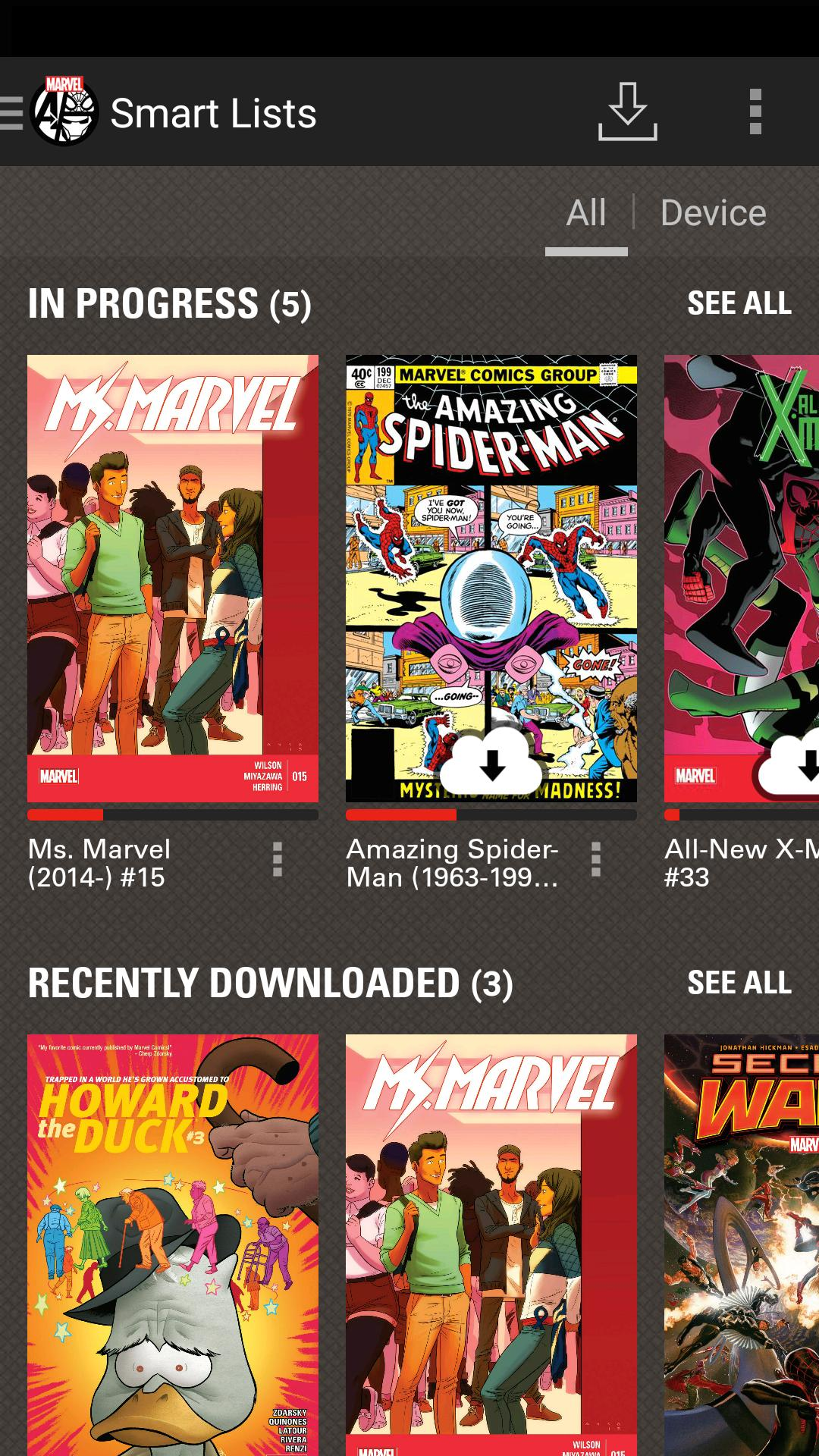 Marvel Comics 3.10.15.310399 Screenshot 2