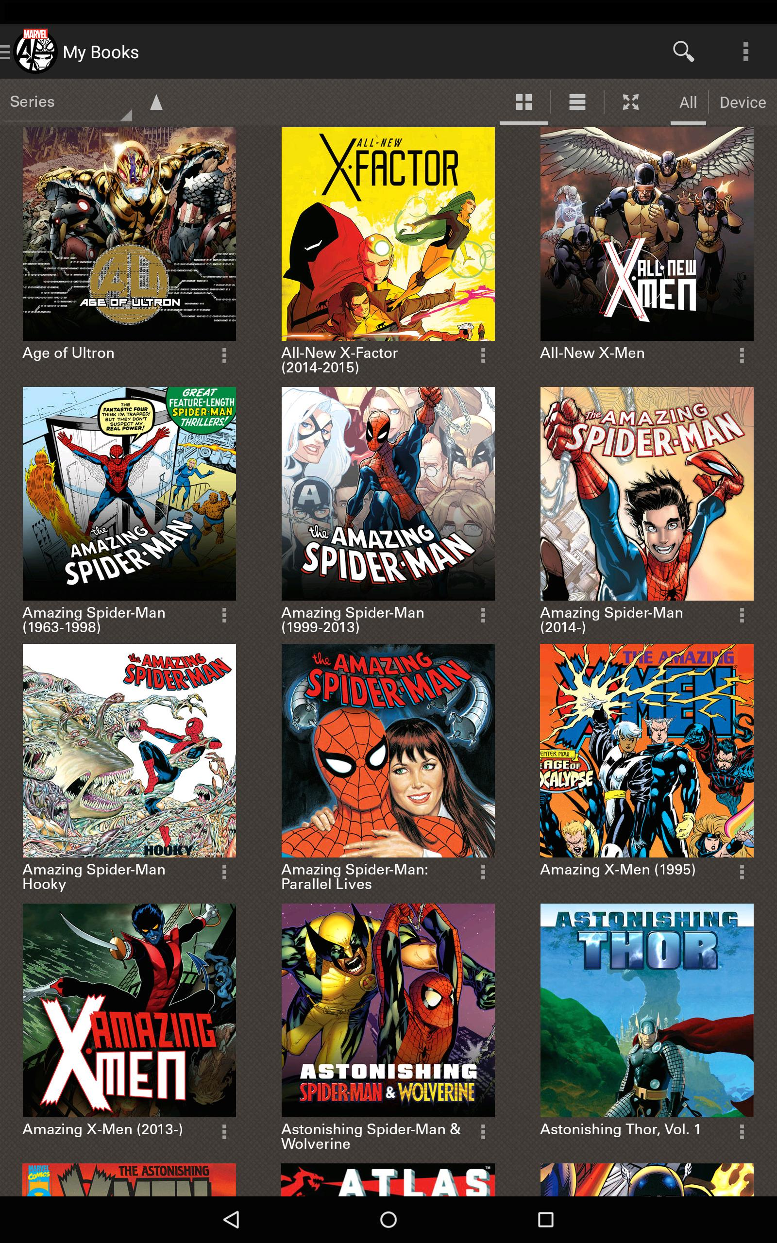 Marvel Comics 3.10.15.310399 Screenshot 9