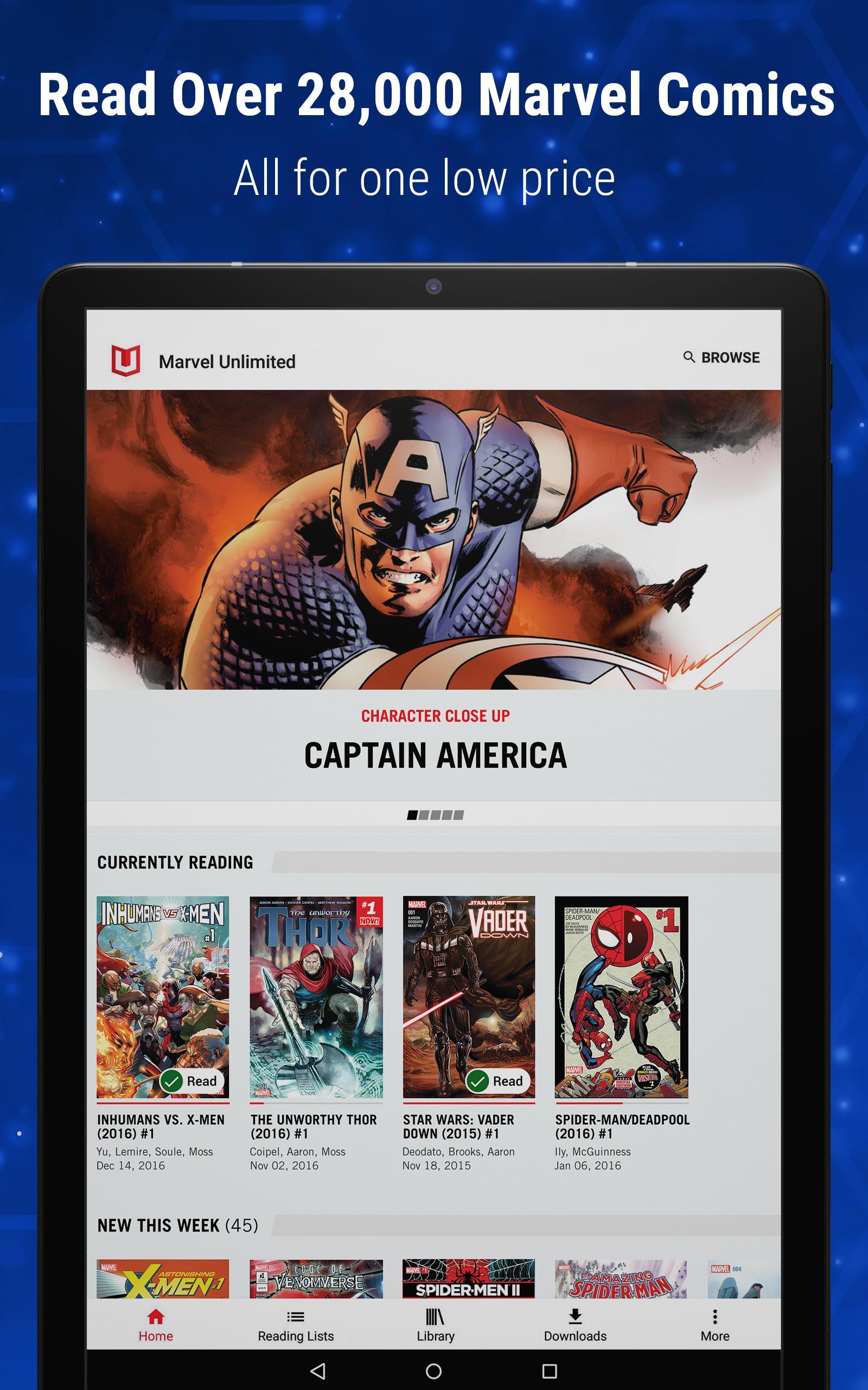 Marvel Unlimited 6.9.3 Screenshot 11