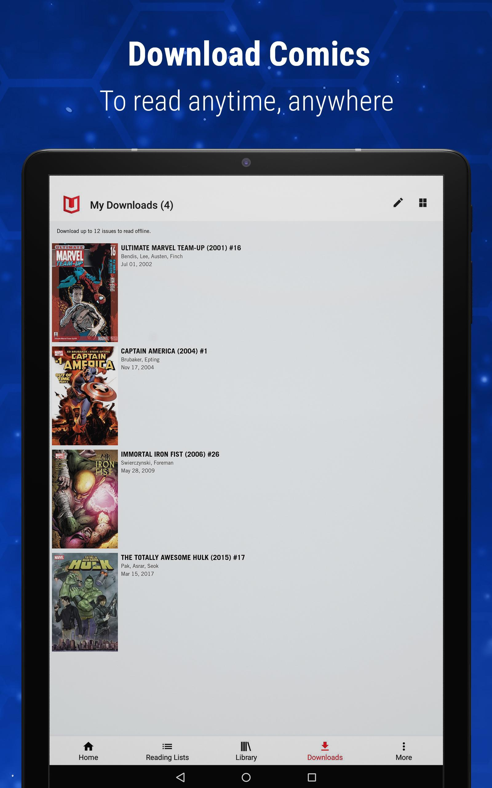 Marvel Unlimited 6.9.3 Screenshot 12