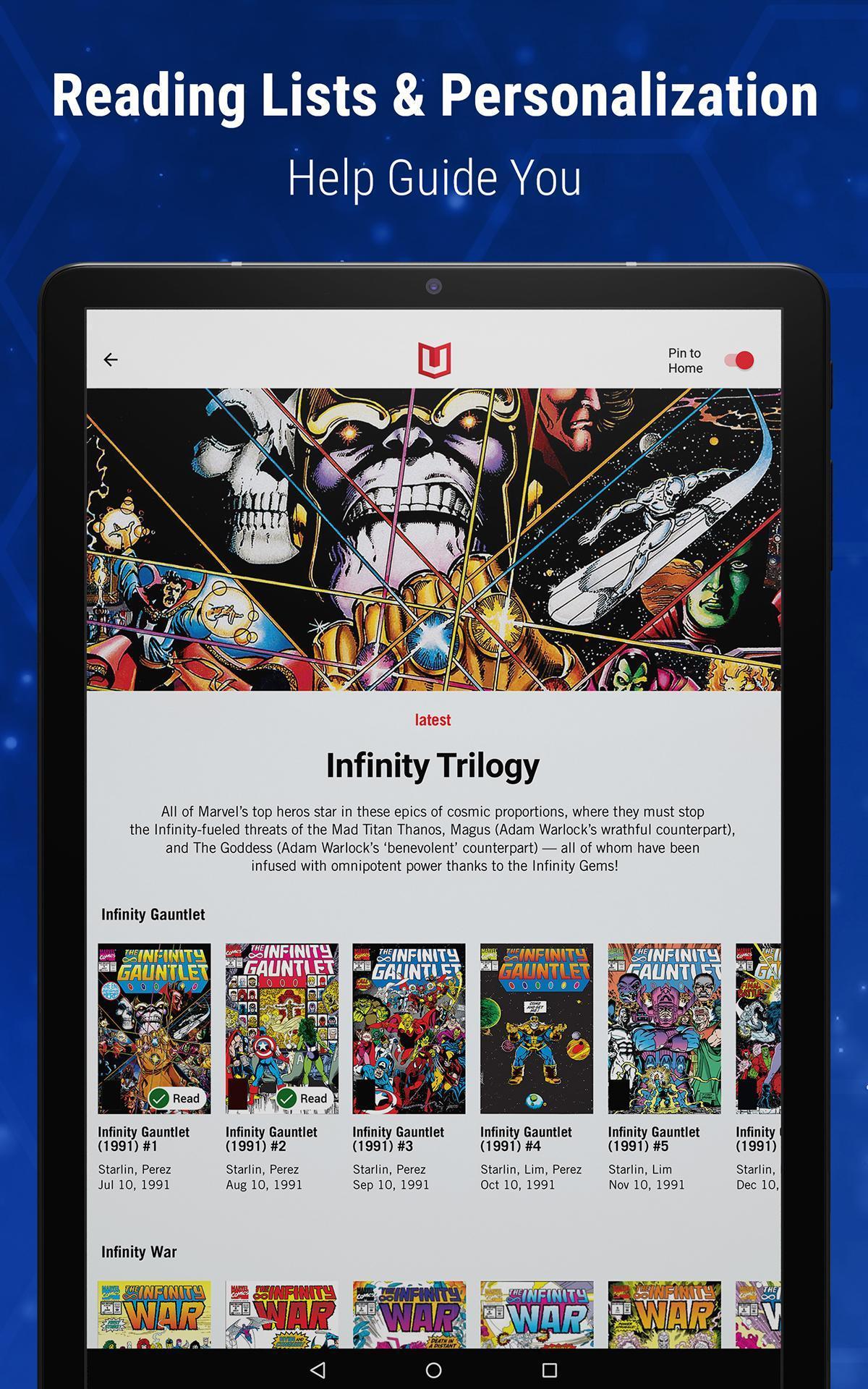 Marvel Unlimited 6.9.3 Screenshot 21