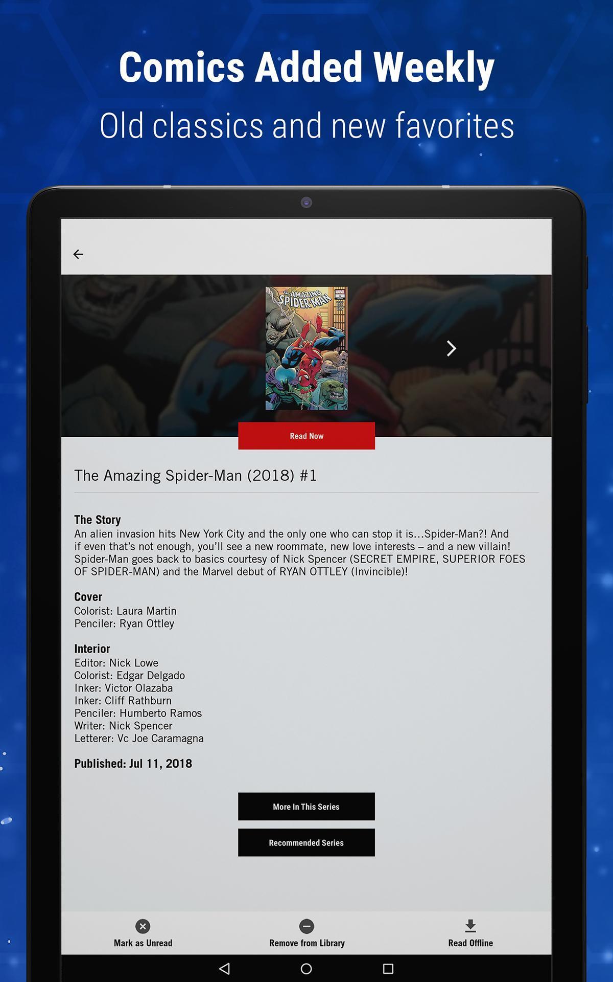 Marvel Unlimited 6.9.3 Screenshot 22