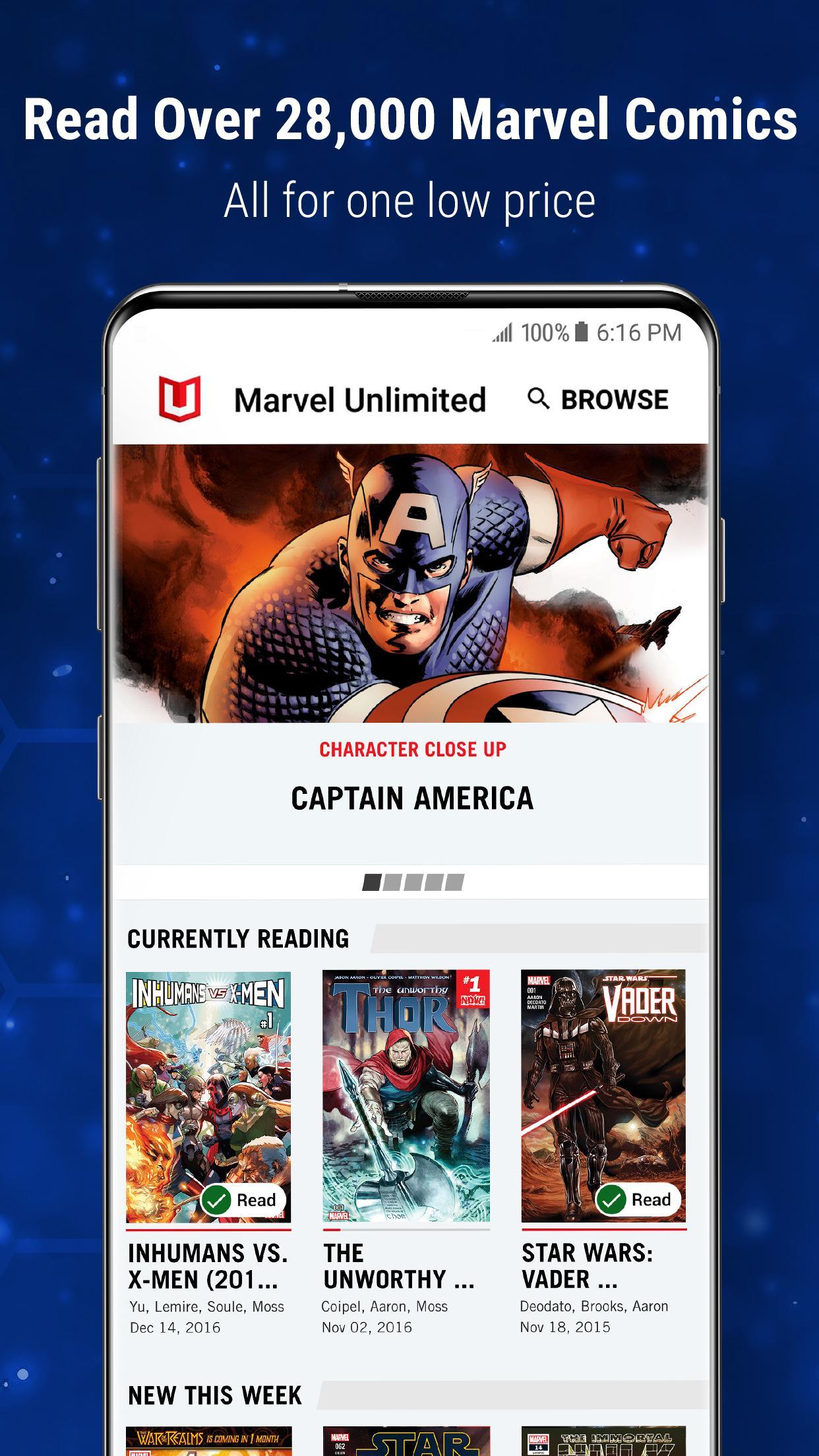 Marvel Unlimited 6.9.3 Screenshot 3