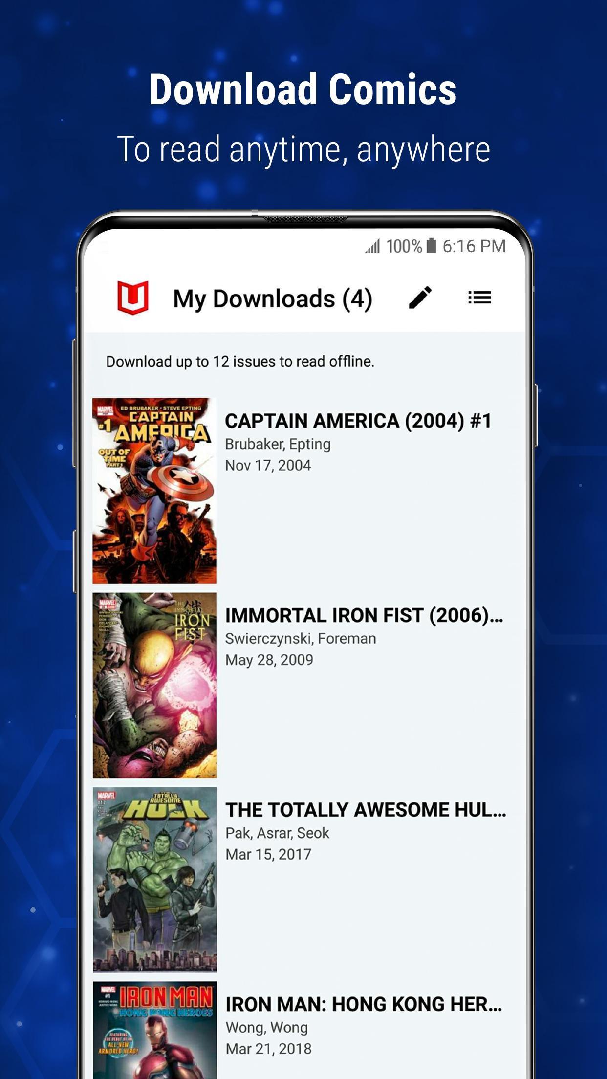 Marvel Unlimited 6.9.3 Screenshot 4