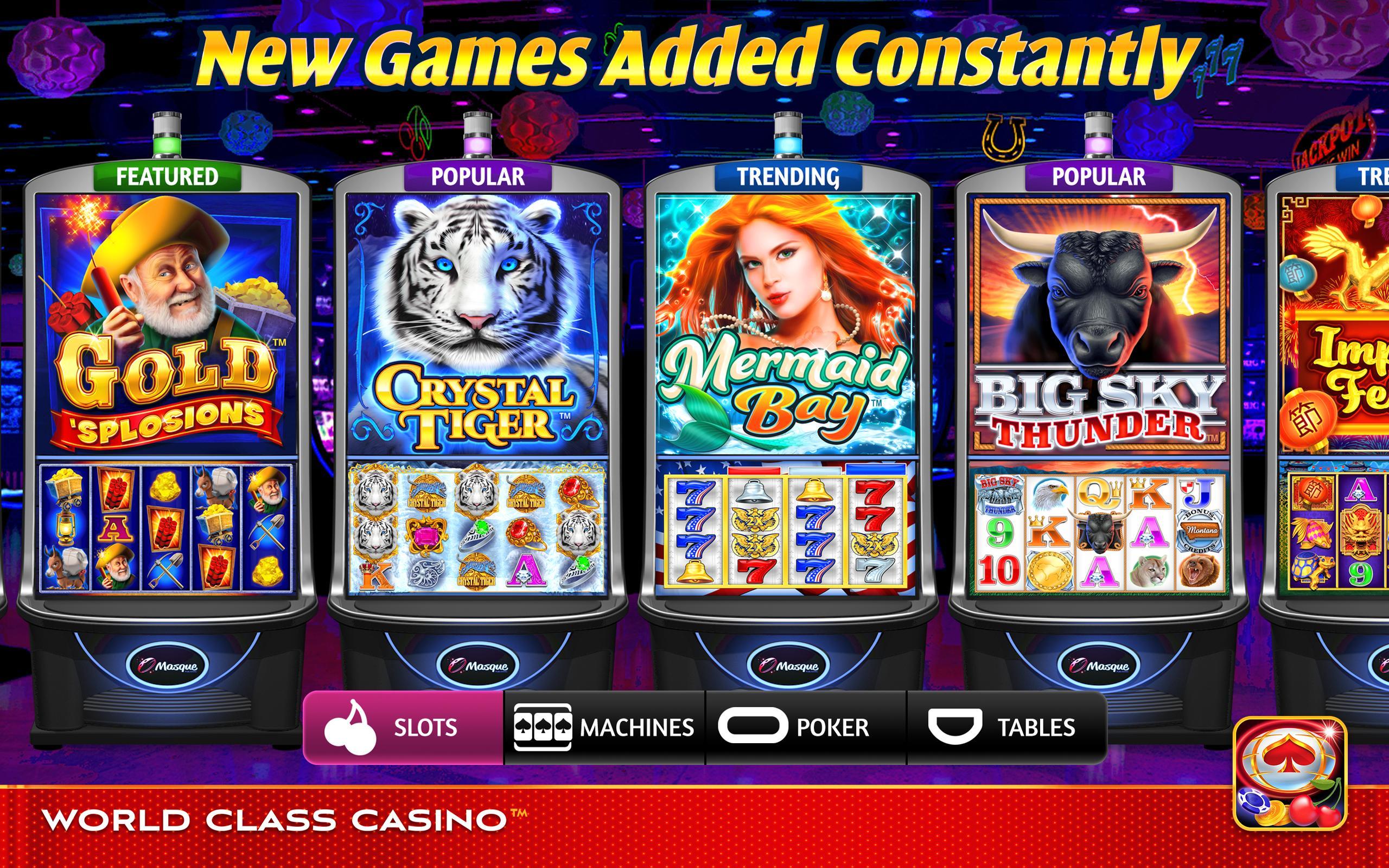 World Class Casino Slots, Blackjack & Poker Room 8.0.4 Screenshot 19