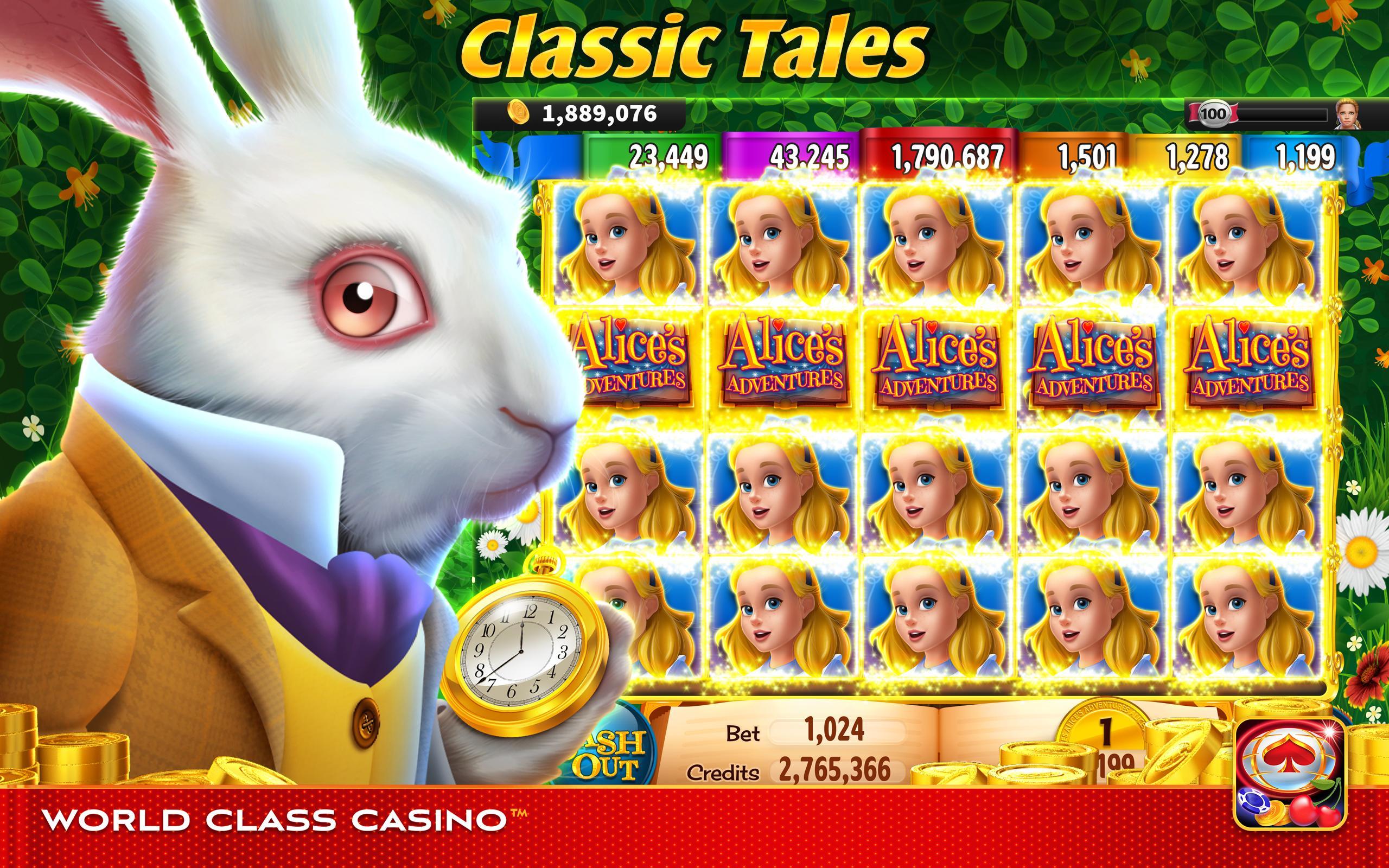 World Class Casino Slots, Blackjack & Poker Room 8.0.4 Screenshot 2