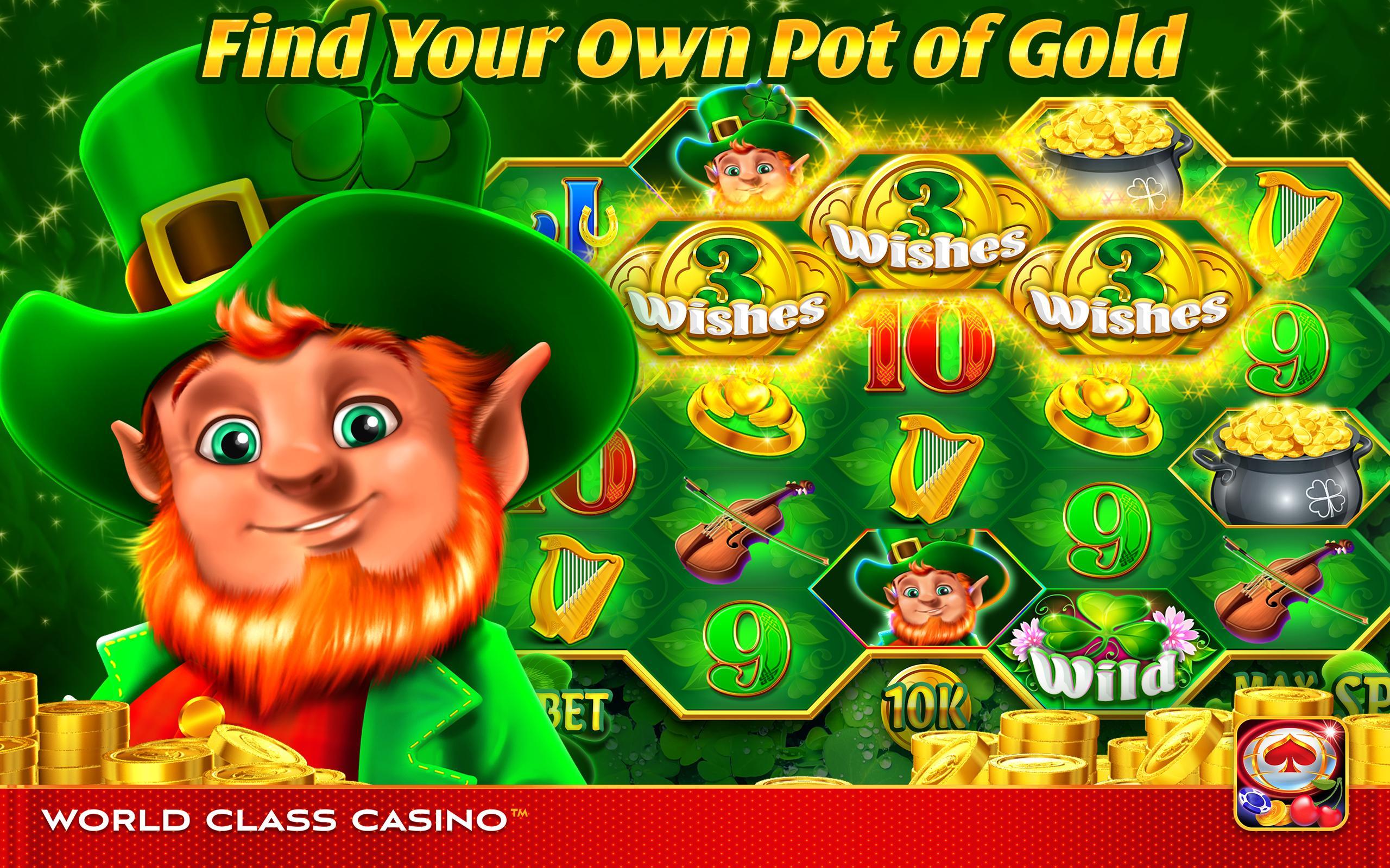 World Class Casino Slots, Blackjack & Poker Room 8.0.4 Screenshot 23