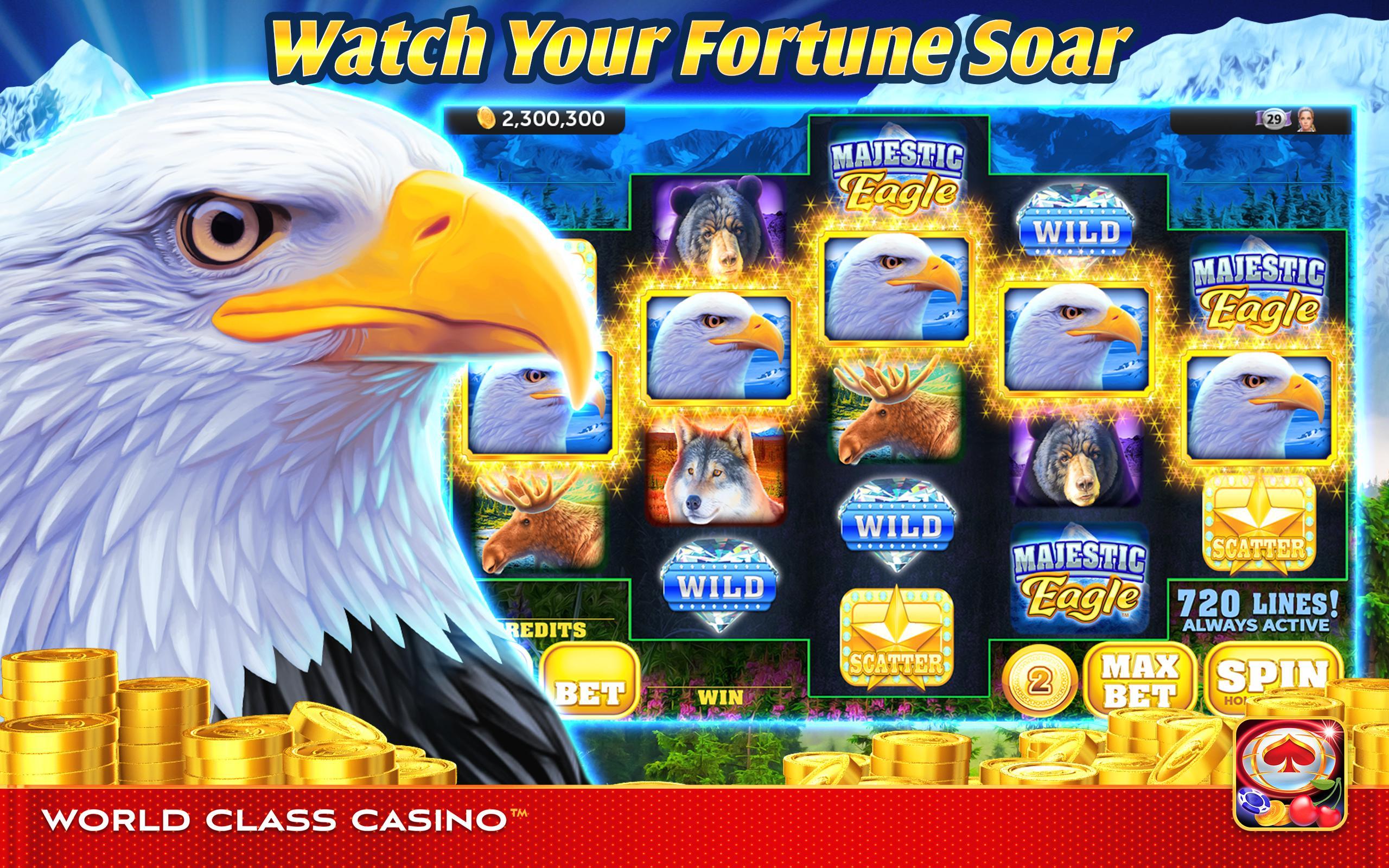 World Class Casino Slots, Blackjack & Poker Room 8.0.4 Screenshot 5