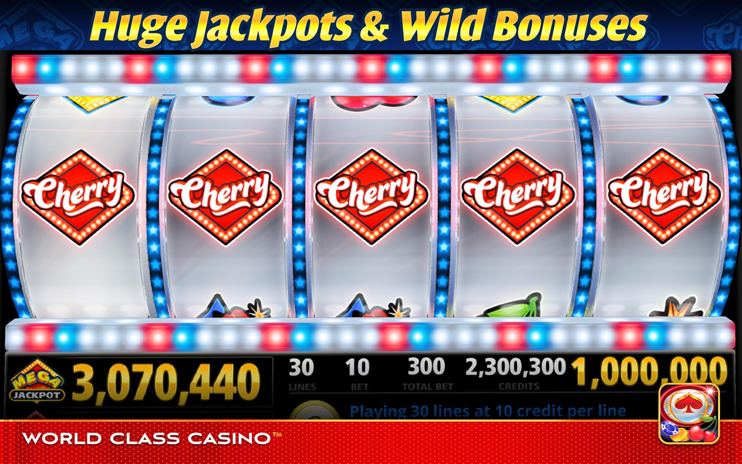 World Class Casino Slots, Blackjack & Poker Room 8.0.4 Screenshot 8