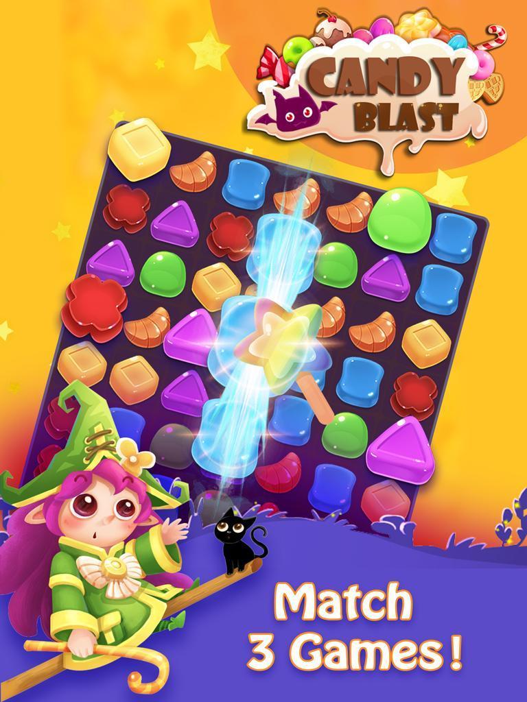 Candy Blast - 2020 Free Match 3 Games 2.8.0 Screenshot 7