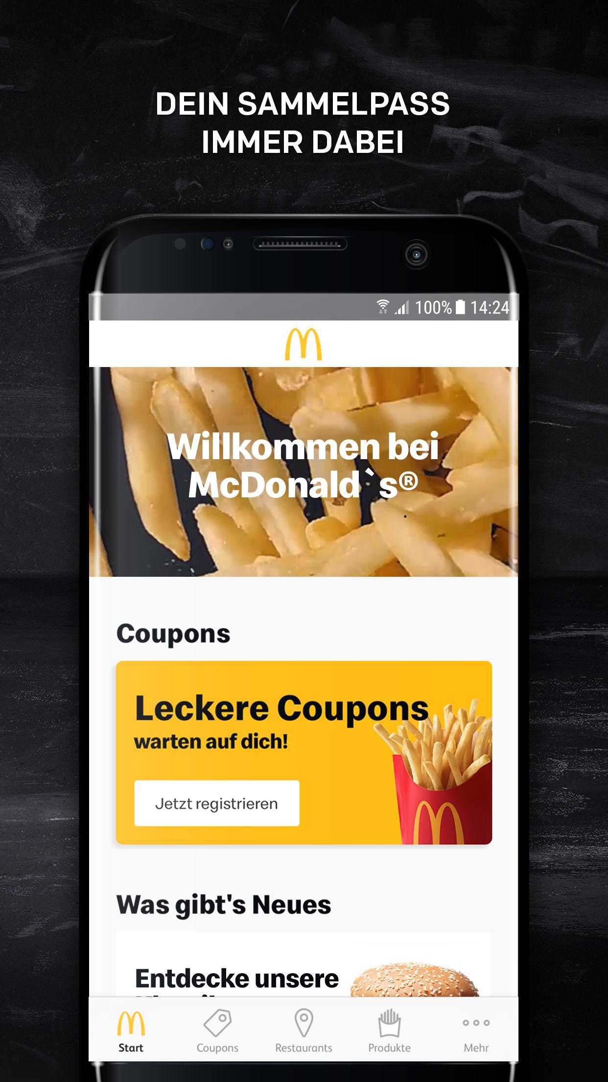 McDonald's Deutschland 6.1.6.42432 Screenshot 1