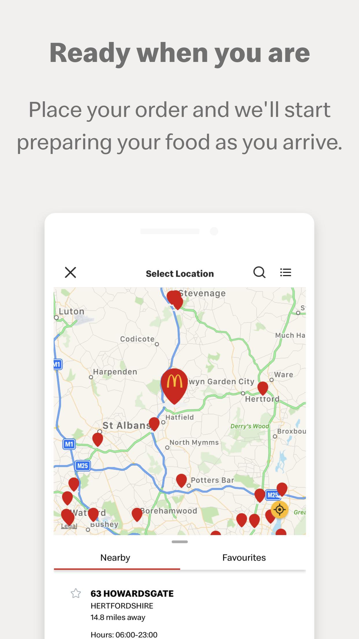 My McDonald's 6.2.6 Screenshot 1