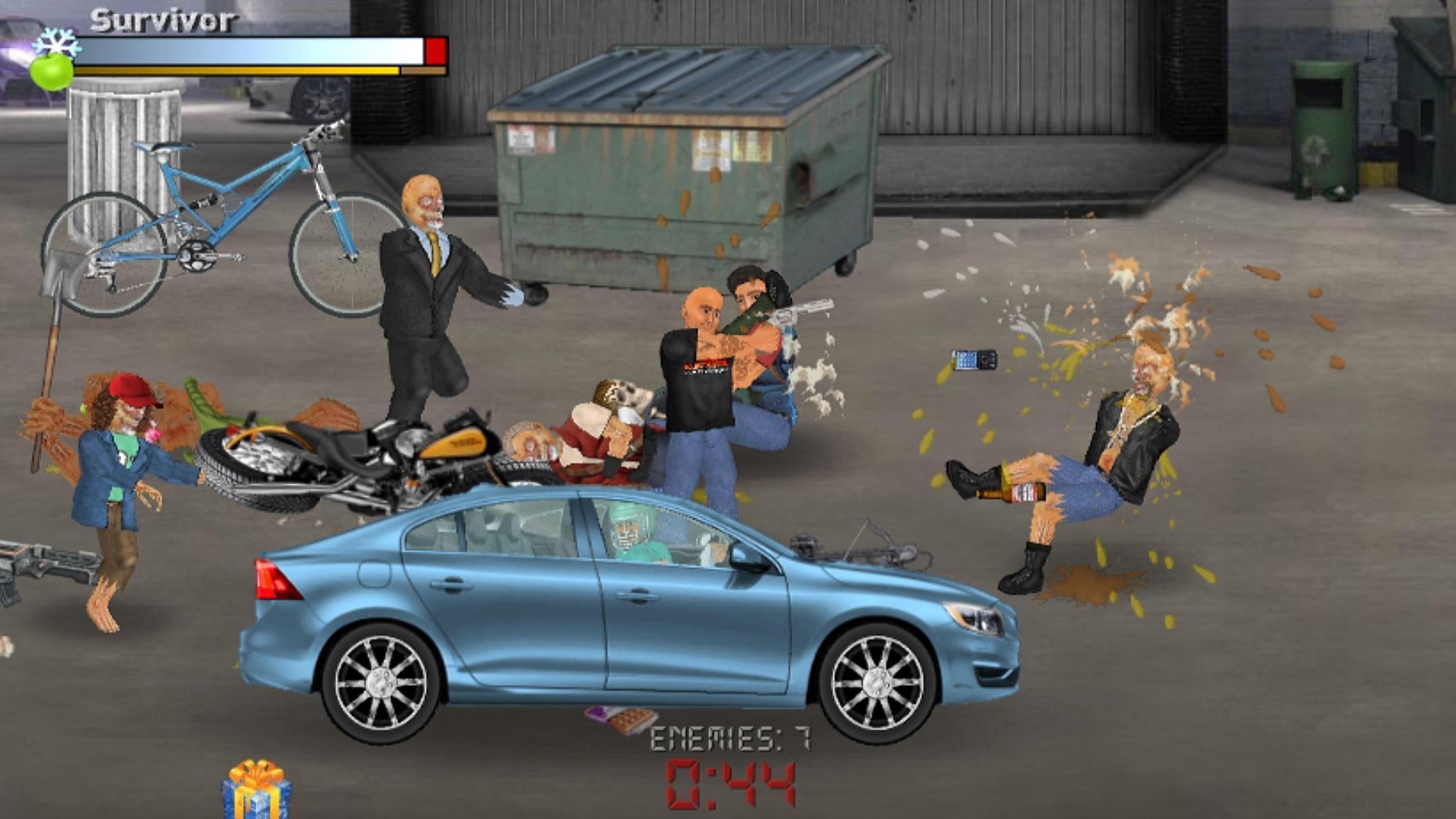 Extra Lives (Zombie Survival Sim) 1.110 Screenshot 1