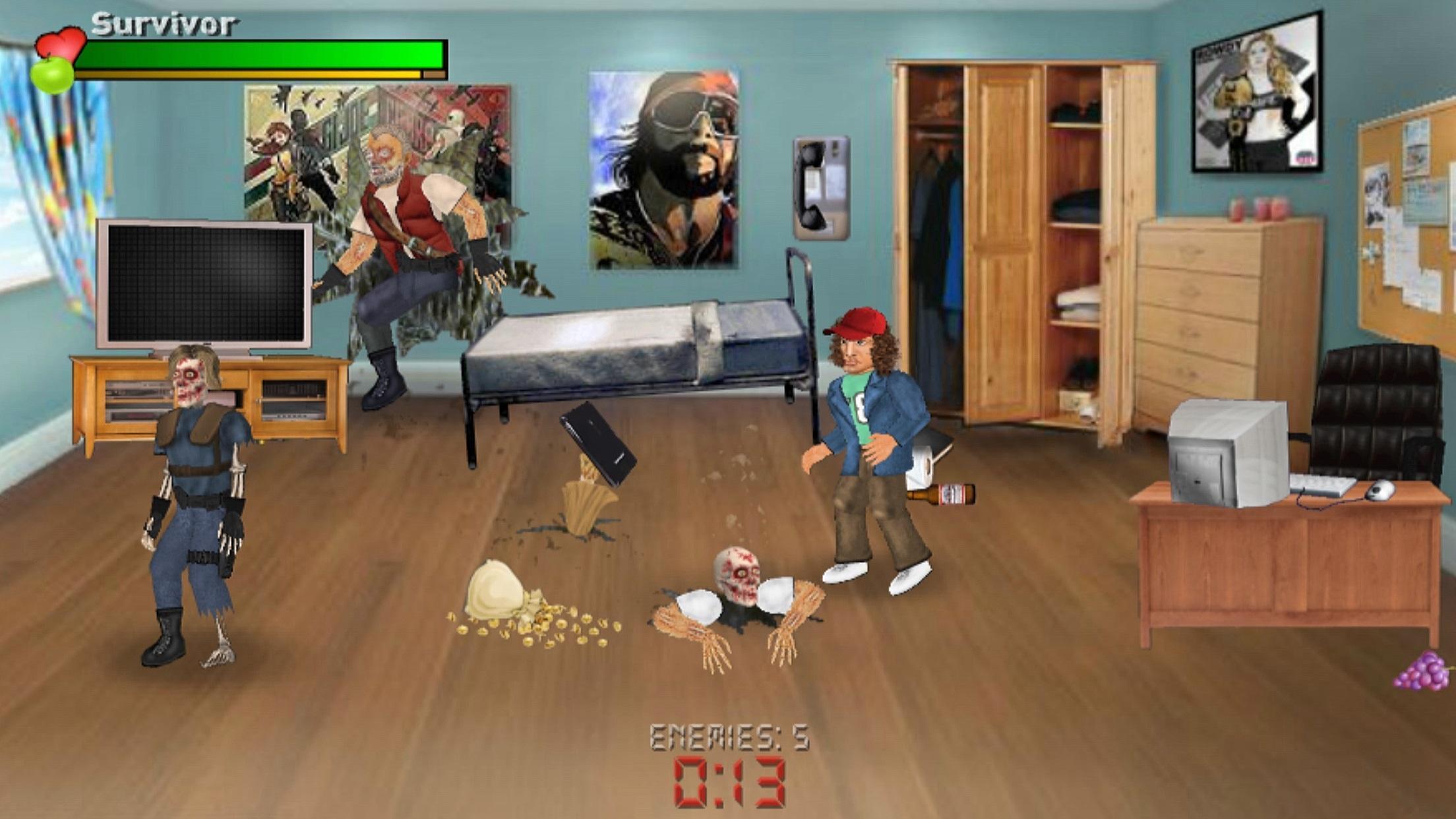 Extra Lives (Zombie Survival Sim) 1.110 Screenshot 7