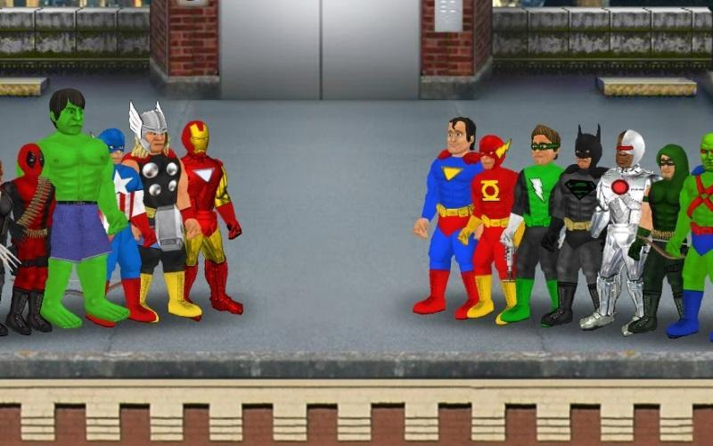 Super City (Superhero Sim) 1.212 Screenshot 1