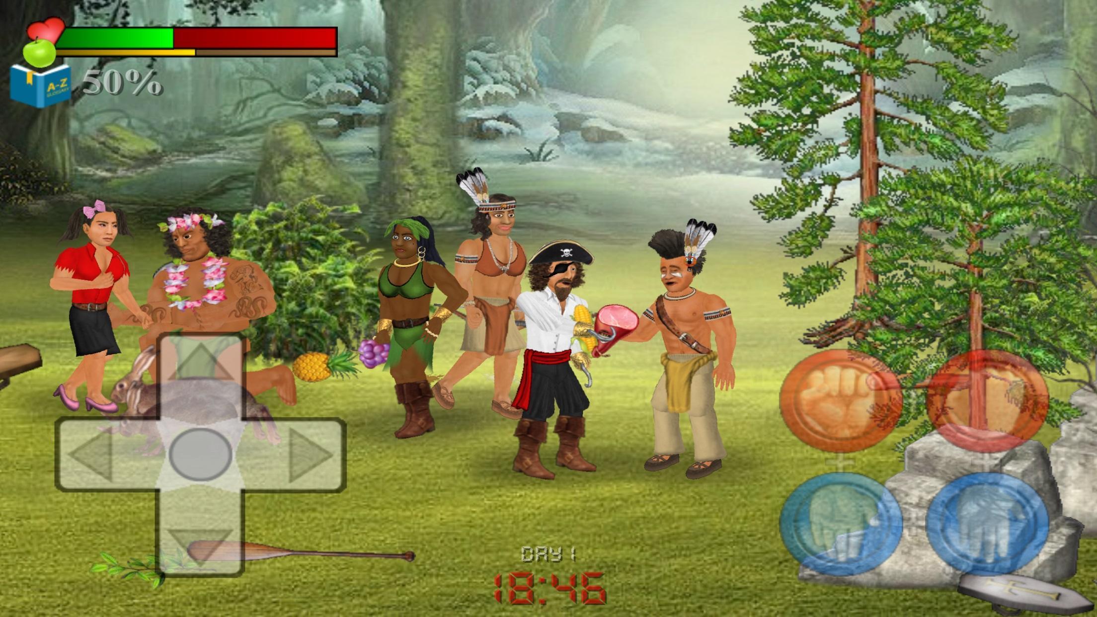 Wrecked (Island Survival Sim) 1.144 Screenshot 3