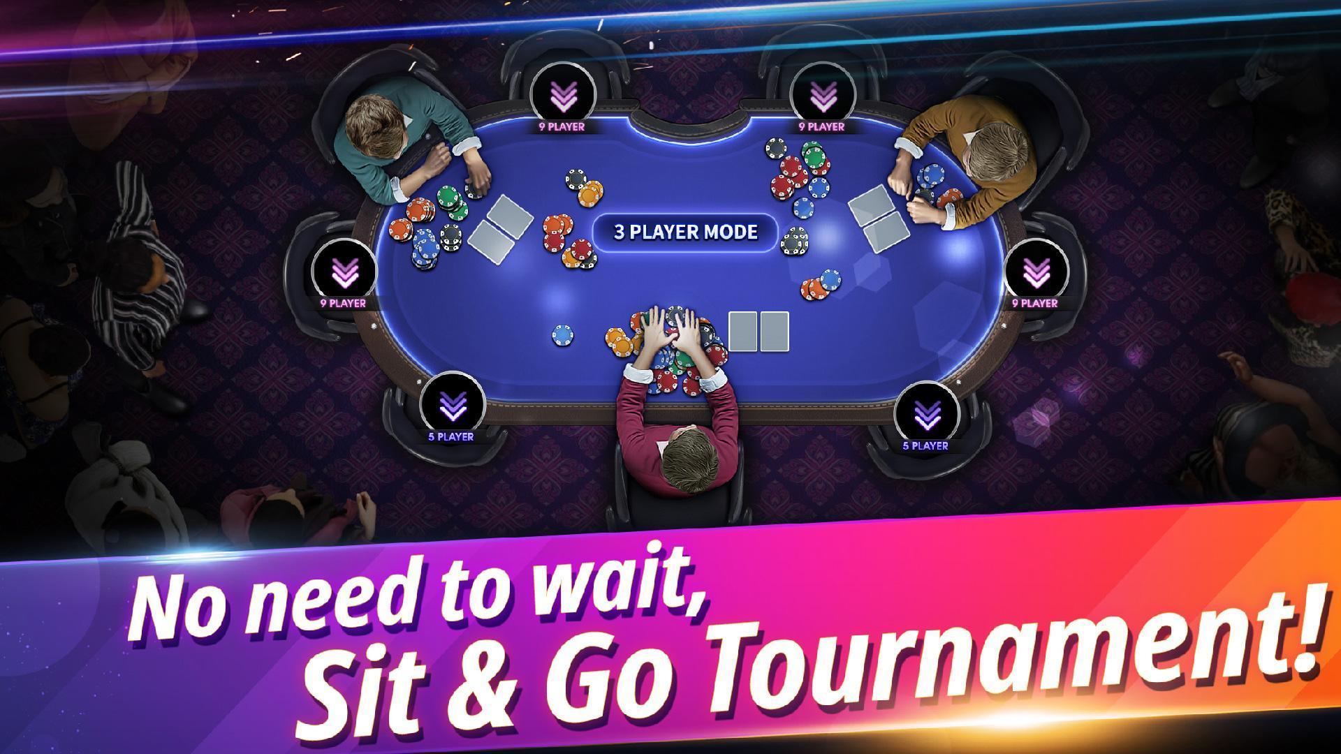 Fulpot Poker Free Texas Holdem,Omaha,Tournaments 2.0.42 Screenshot 1