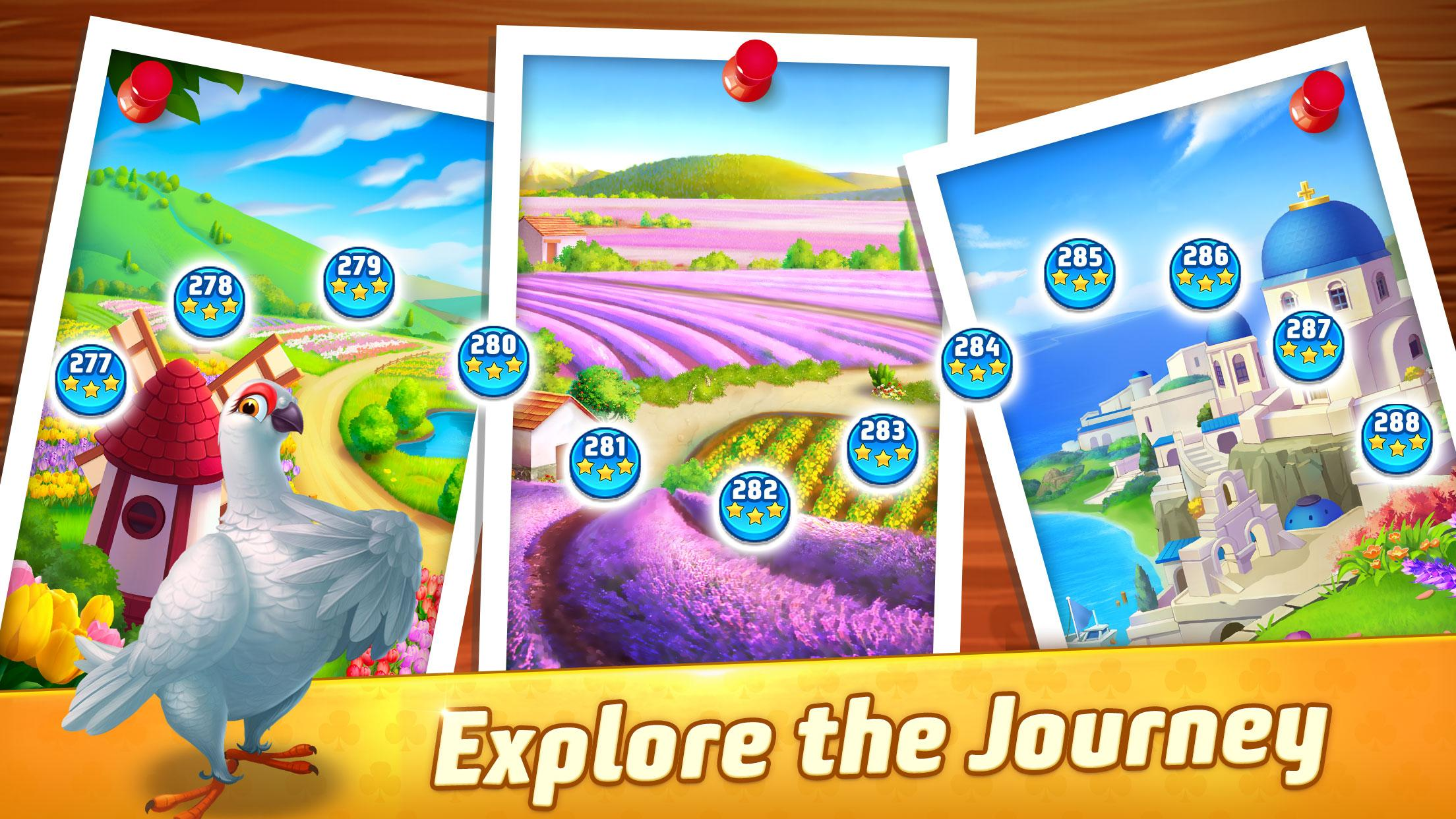 Solitaire TriPeaks Journey - Free Card Game 1.4047.0 Screenshot 3