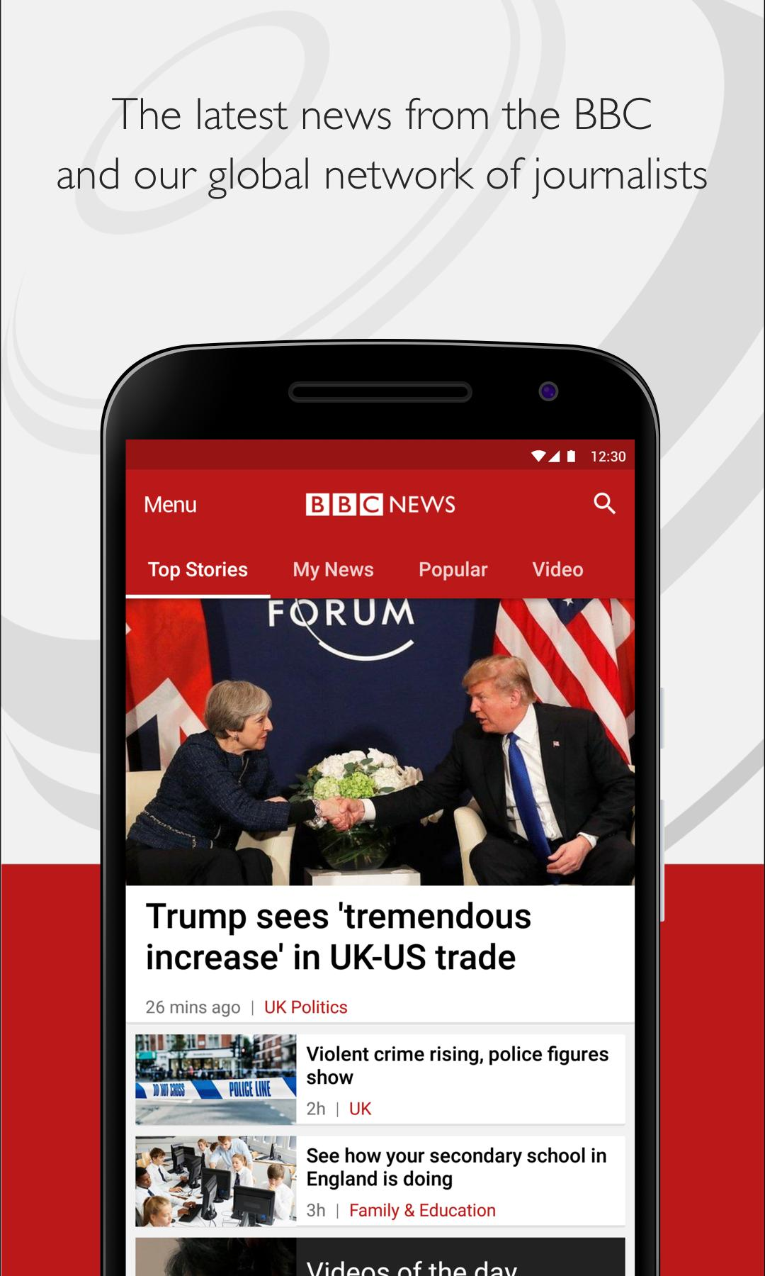 BBC News 5.8.0 Screenshot 1
